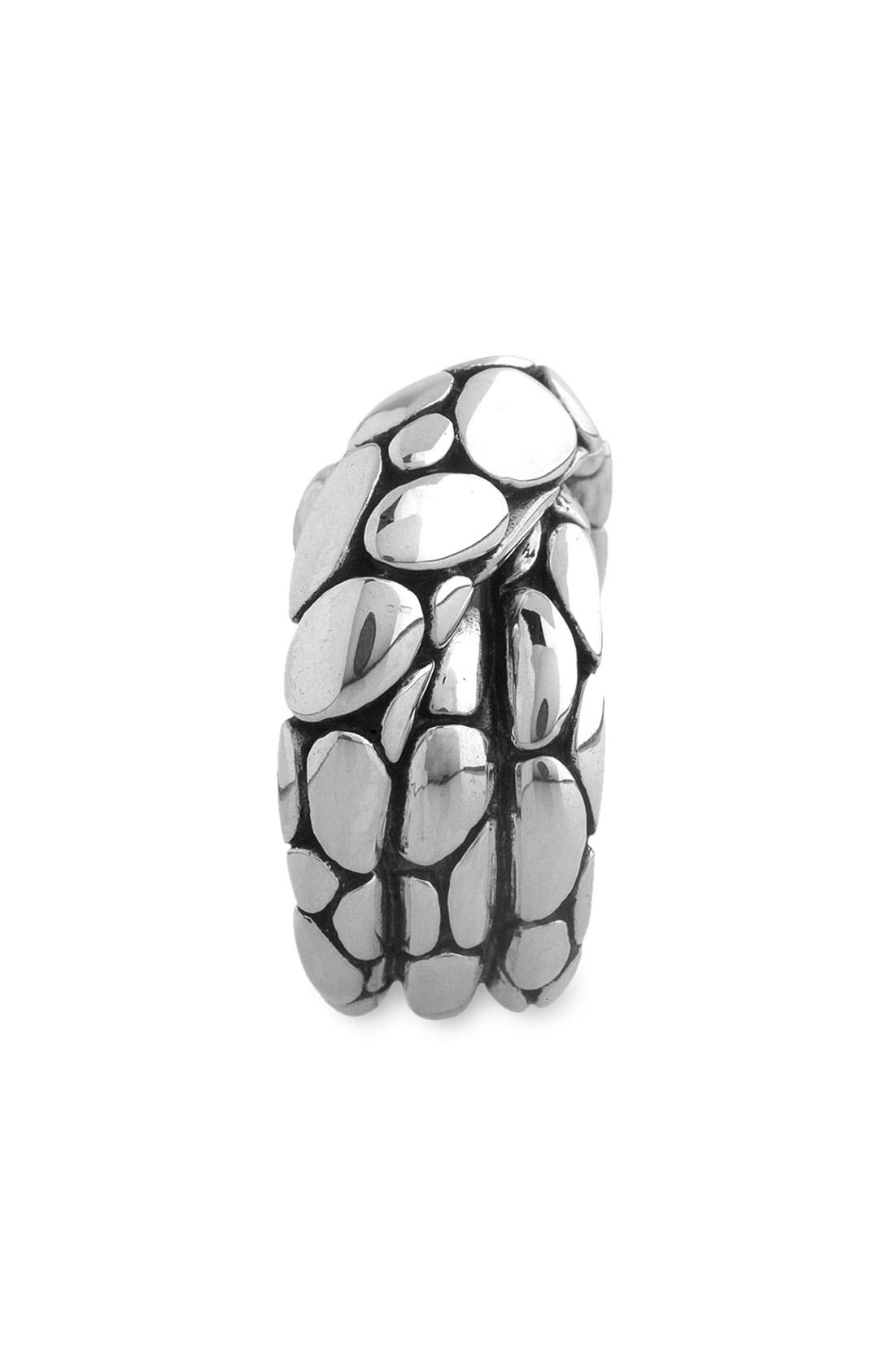 'Kali' Silver Twist Ring,                             Alternate thumbnail 2, color,                             SIL