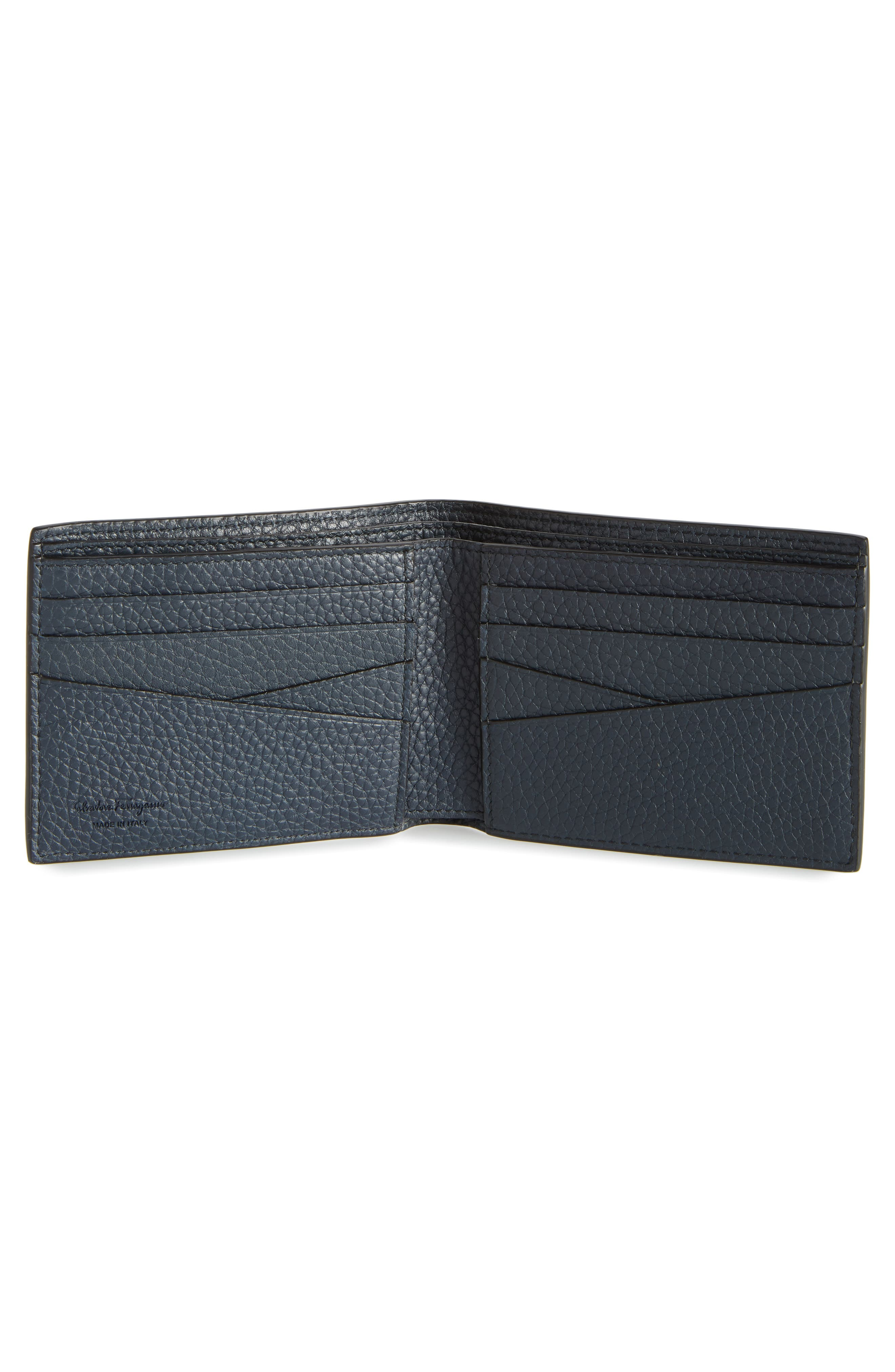 New Firenze Leather Wallet,                             Alternate thumbnail 2, color,                             NERO