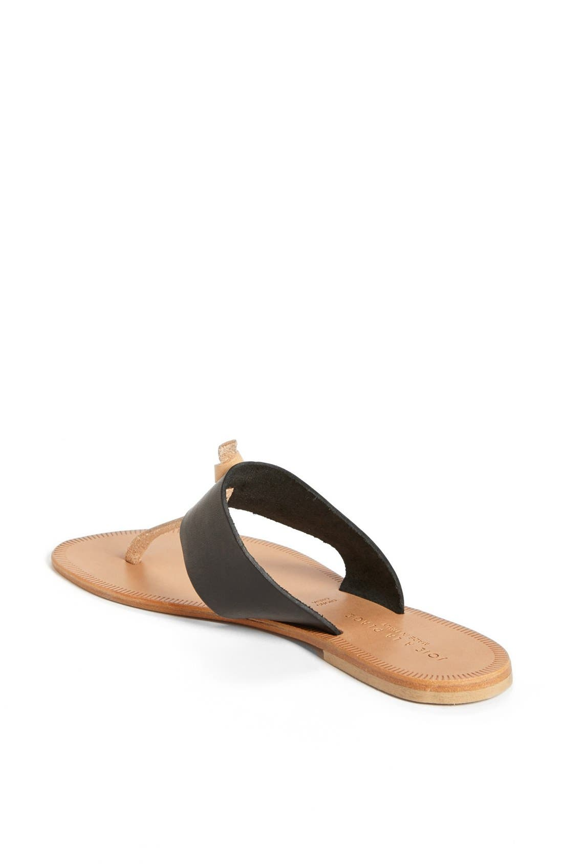 a la Plage 'Nice' Flip Flop,                             Alternate thumbnail 2, color,                             001