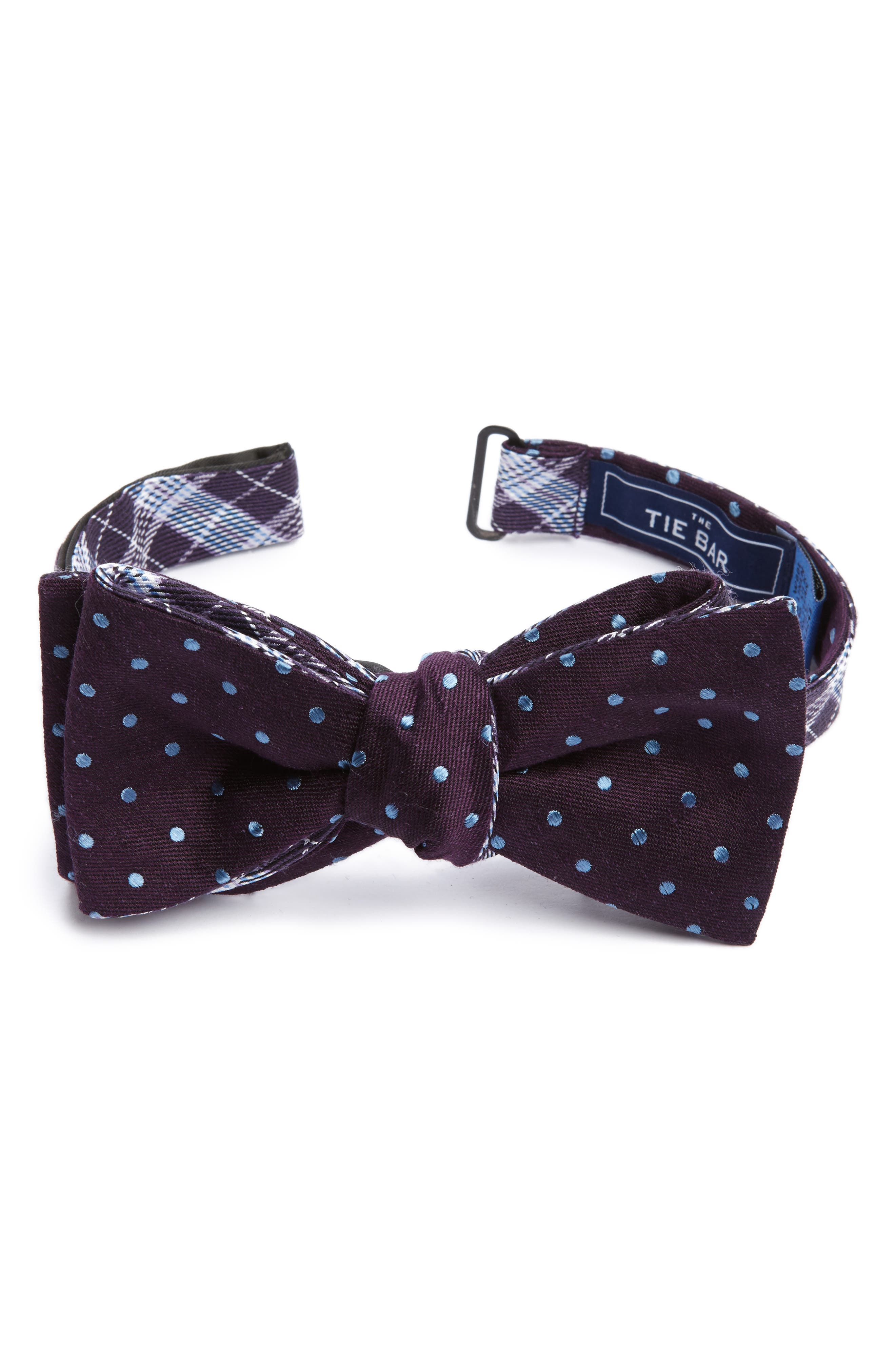 Emerson Reversible Silk Bow Tie,                             Main thumbnail 2, color,