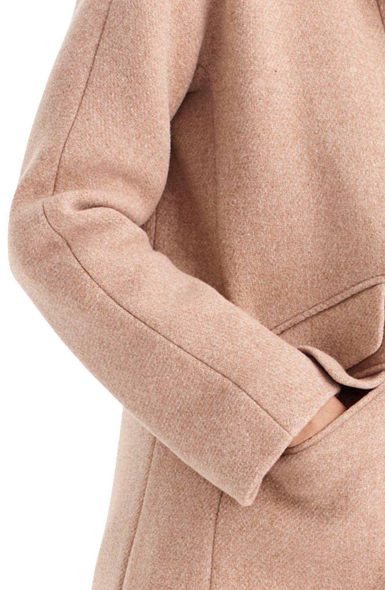 Stadium Cloth Cocoon Coat,                             Alternate thumbnail 40, color,