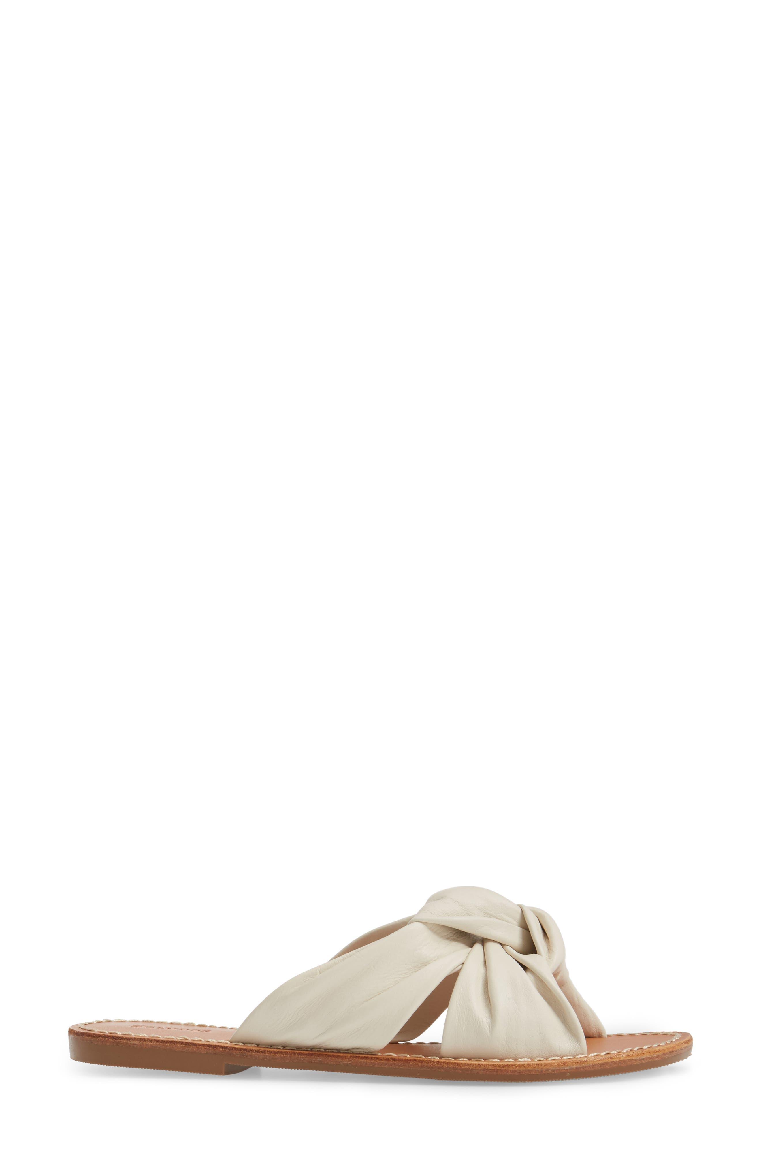 Knotted Slide Sandal,                             Alternate thumbnail 6, color,