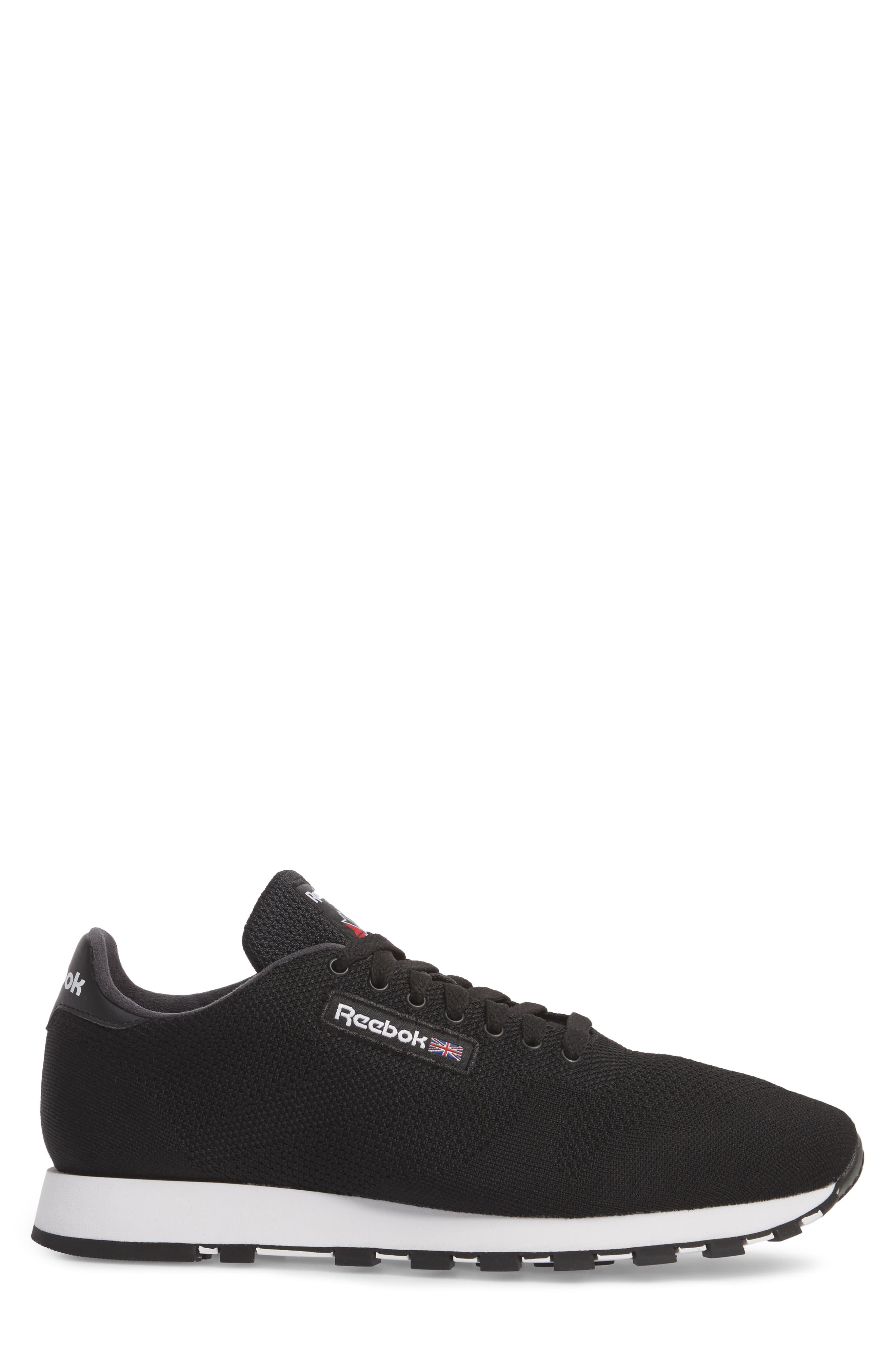 Classic Leather ULTK Sneaker,                             Alternate thumbnail 3, color,                             001