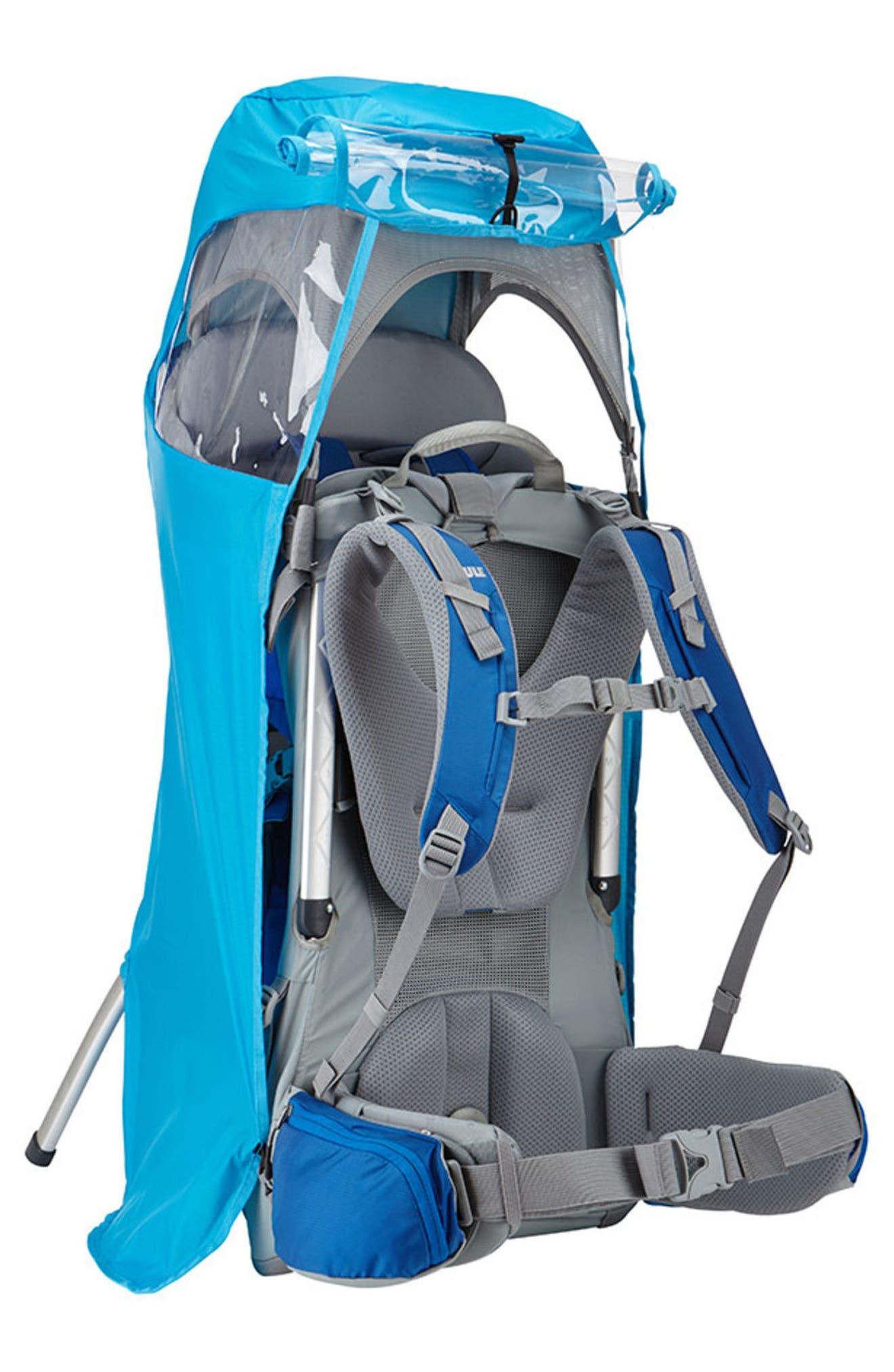 Sapling Child Carrier Rain Cover,                             Alternate thumbnail 2, color,                             THULE BLUE