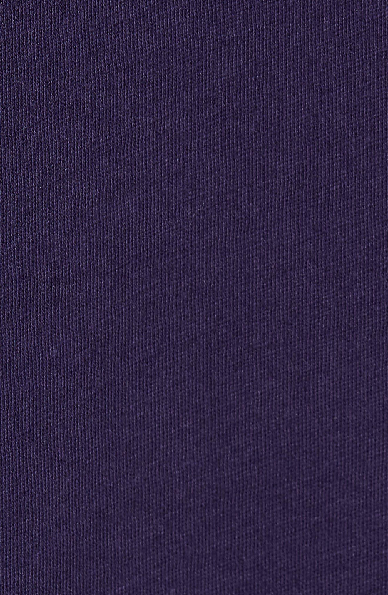 VINCE,                             Long Sleeve Pima Cotton Tee,                             Alternate thumbnail 5, color,                             501