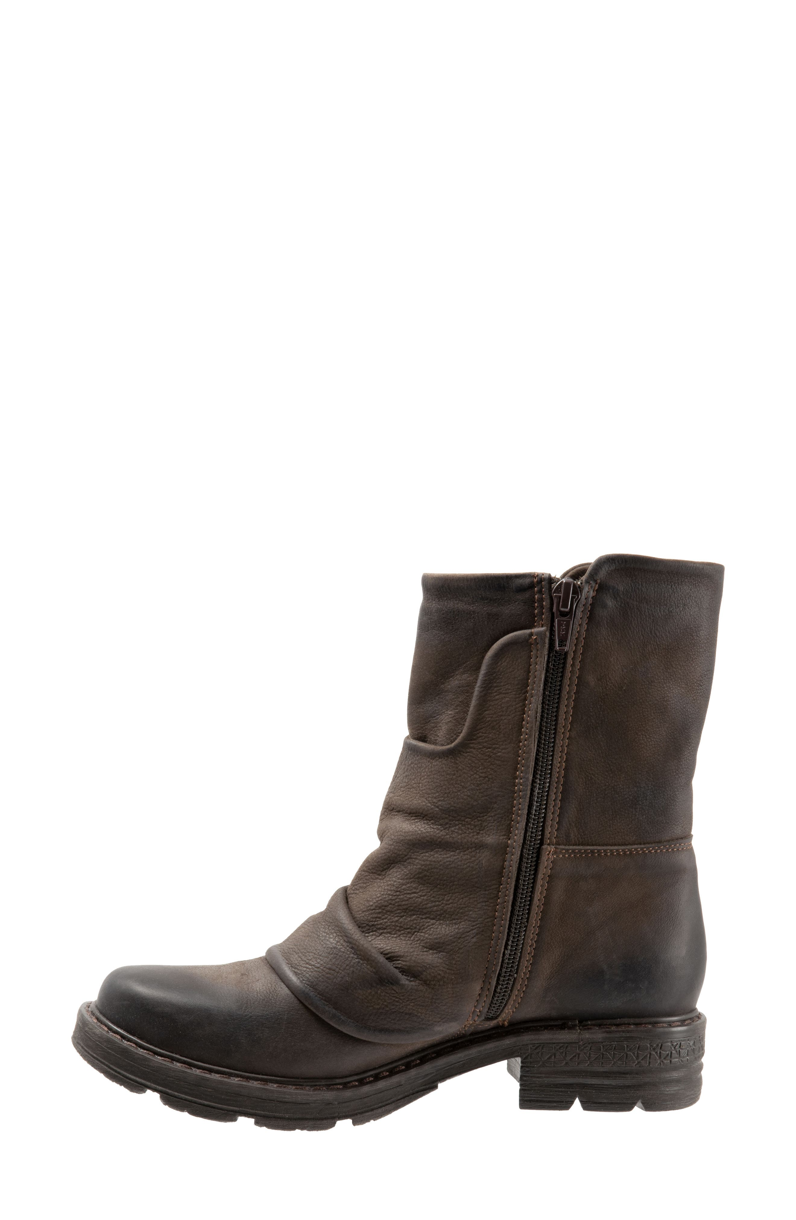 Greta Boot,                             Alternate thumbnail 9, color,                             BROWN NUBUCK