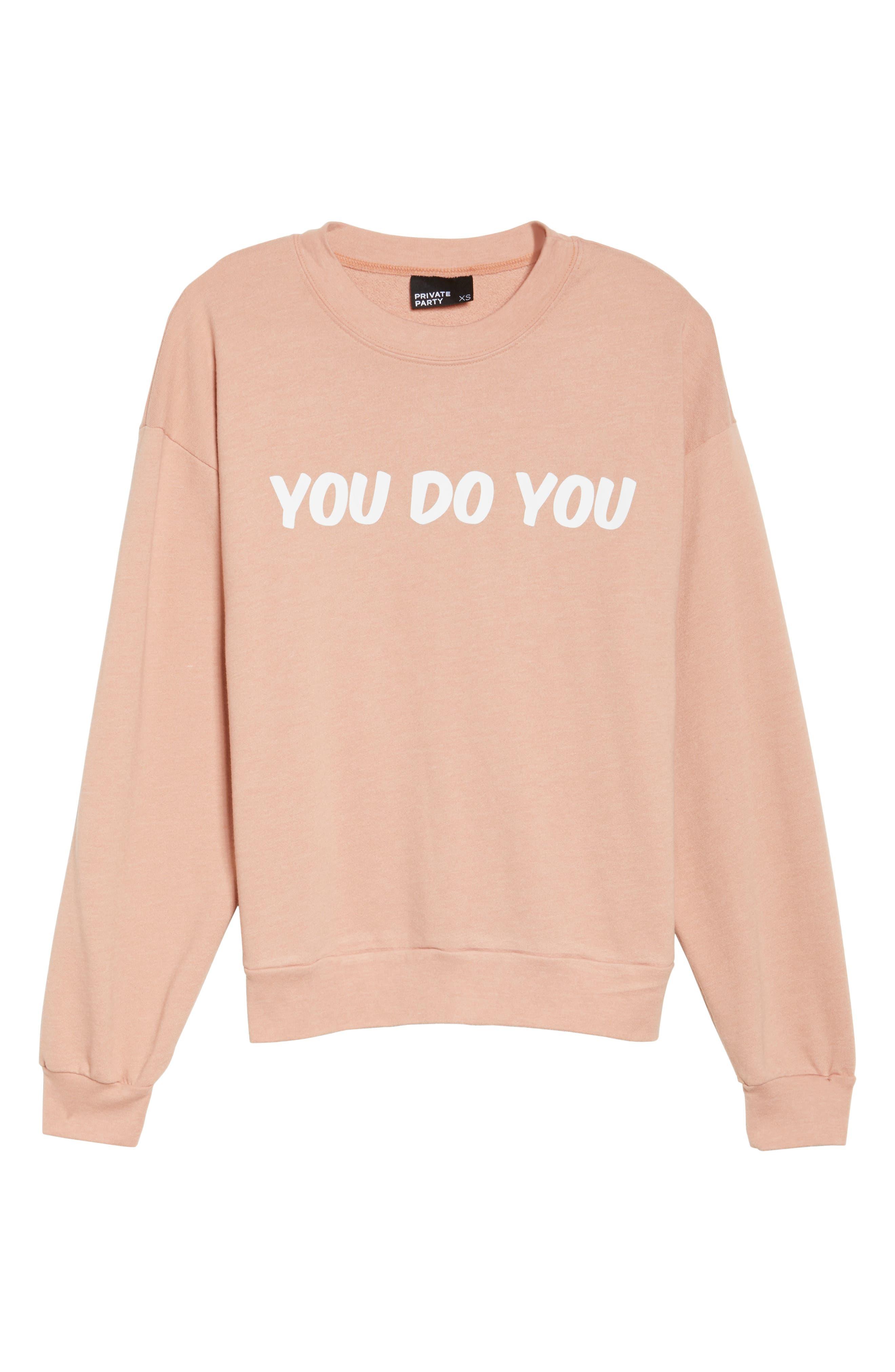You Do You Sweatshirt,                             Alternate thumbnail 7, color,