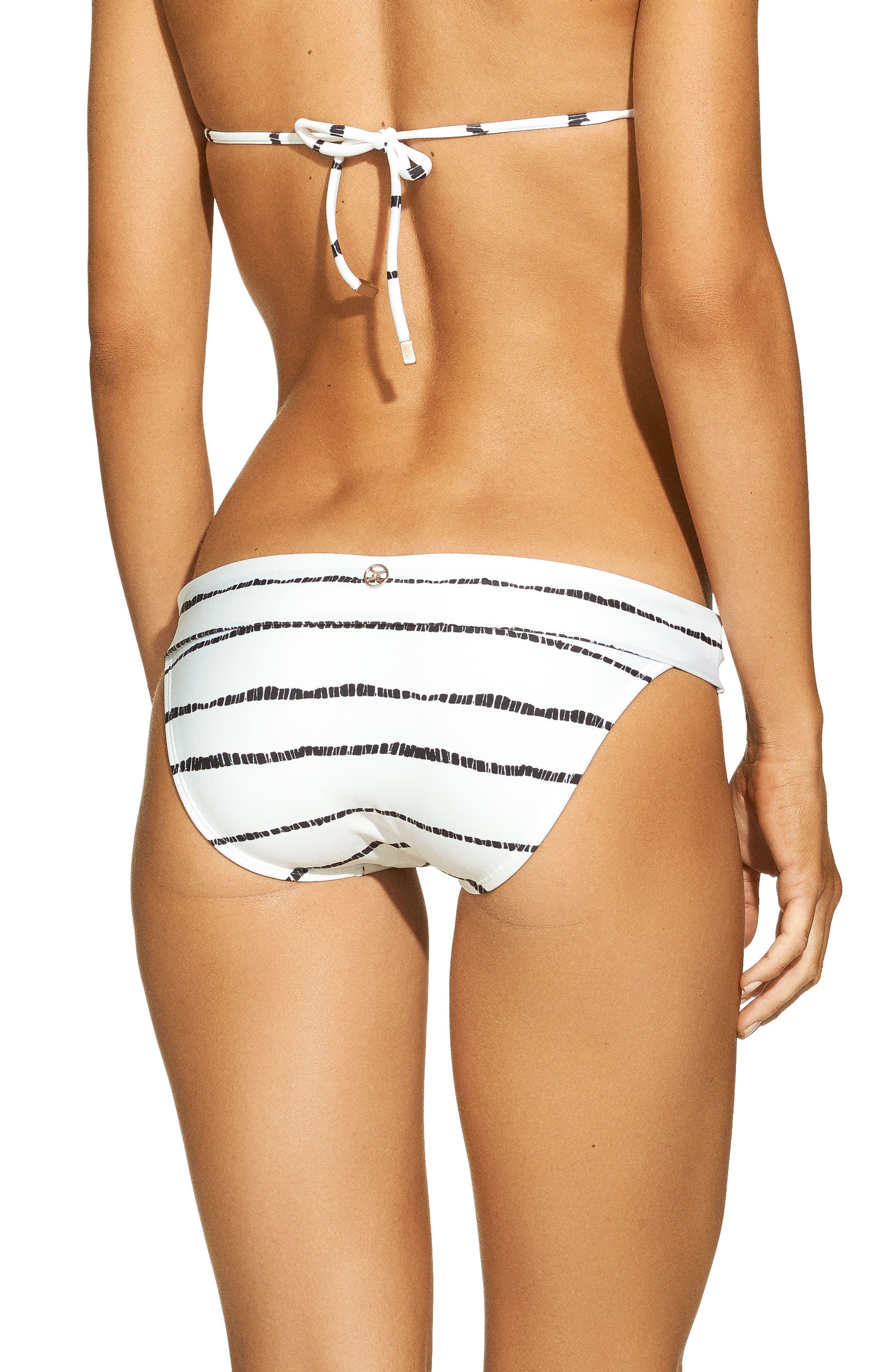 Lee Bia Tube Bikini Bottoms,                             Alternate thumbnail 2, color,                             WHITE