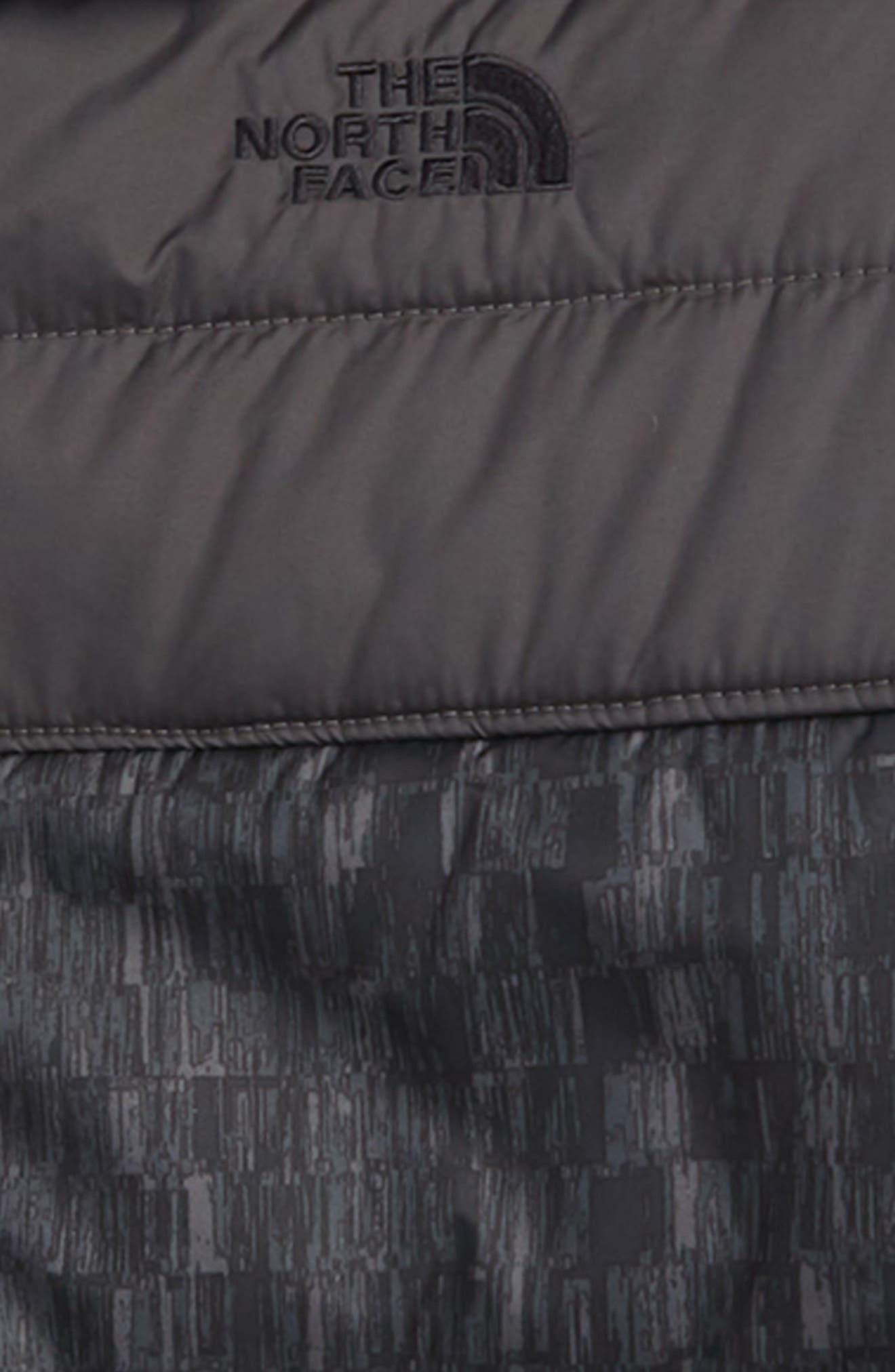 Mount Chimborazo Reversible Jacket,                             Alternate thumbnail 3, color,                             TNF BLACK CHECKER PRINT