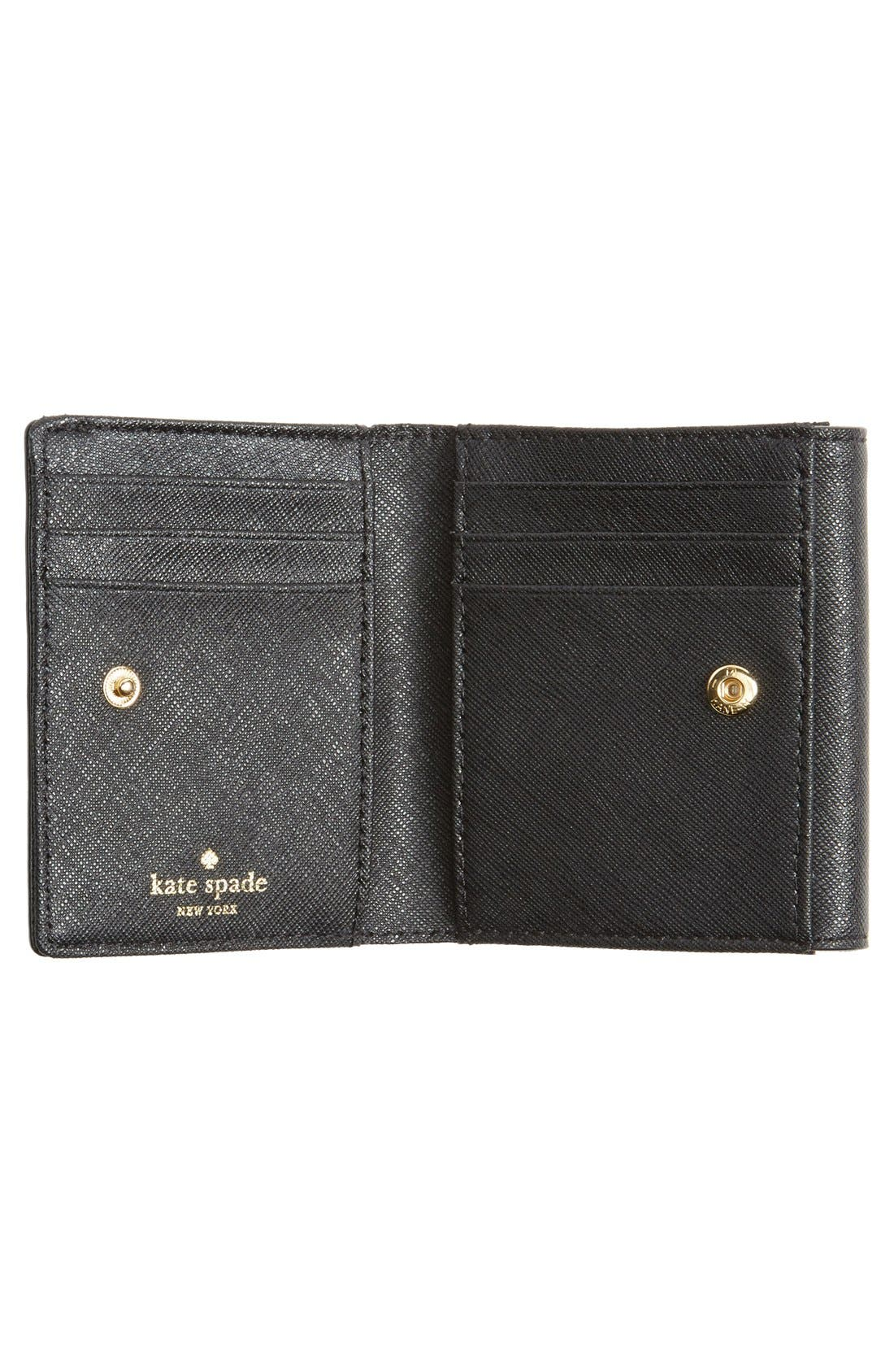 'cedar street - tavy' leather wallet,                             Alternate thumbnail 3, color,                             001