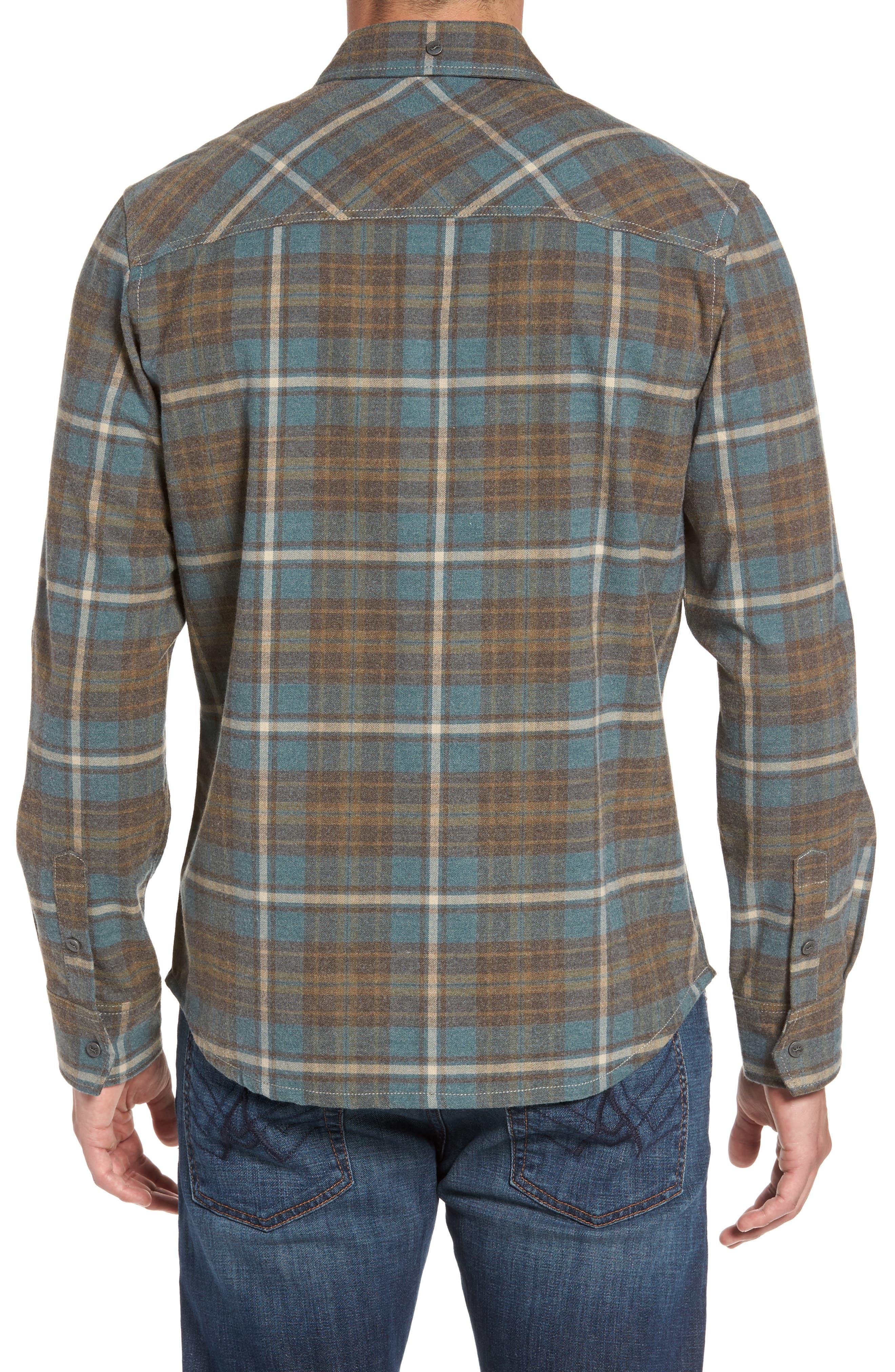 Ranger Plaid Shirt,                             Alternate thumbnail 2, color,                             424