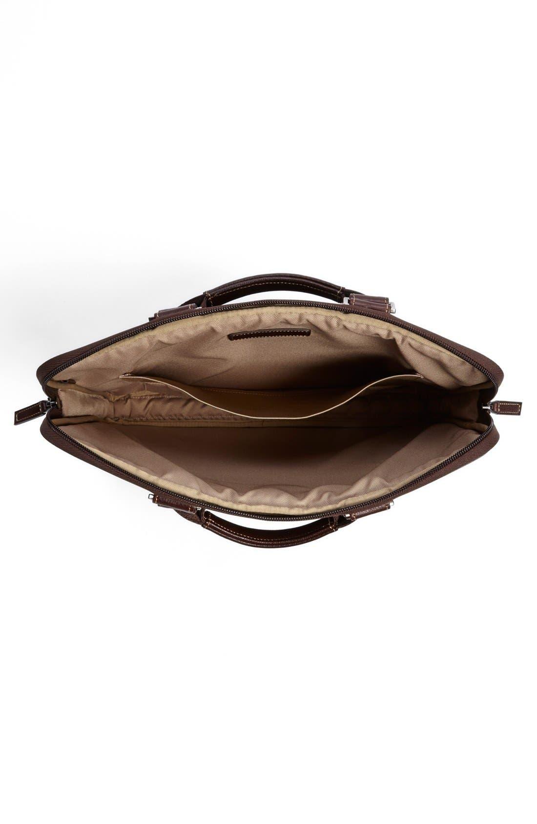 'Tyler' Leather Laptop Briefcase,                             Alternate thumbnail 8, color,