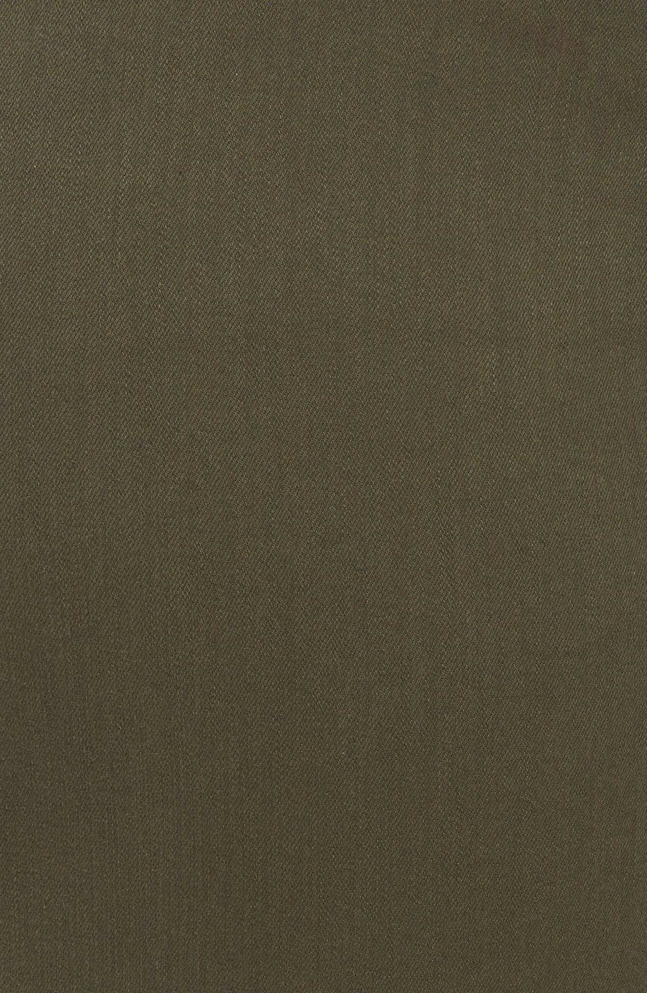 Dayla Colored Wide Cuff Capri Jeans,                             Alternate thumbnail 10, color,