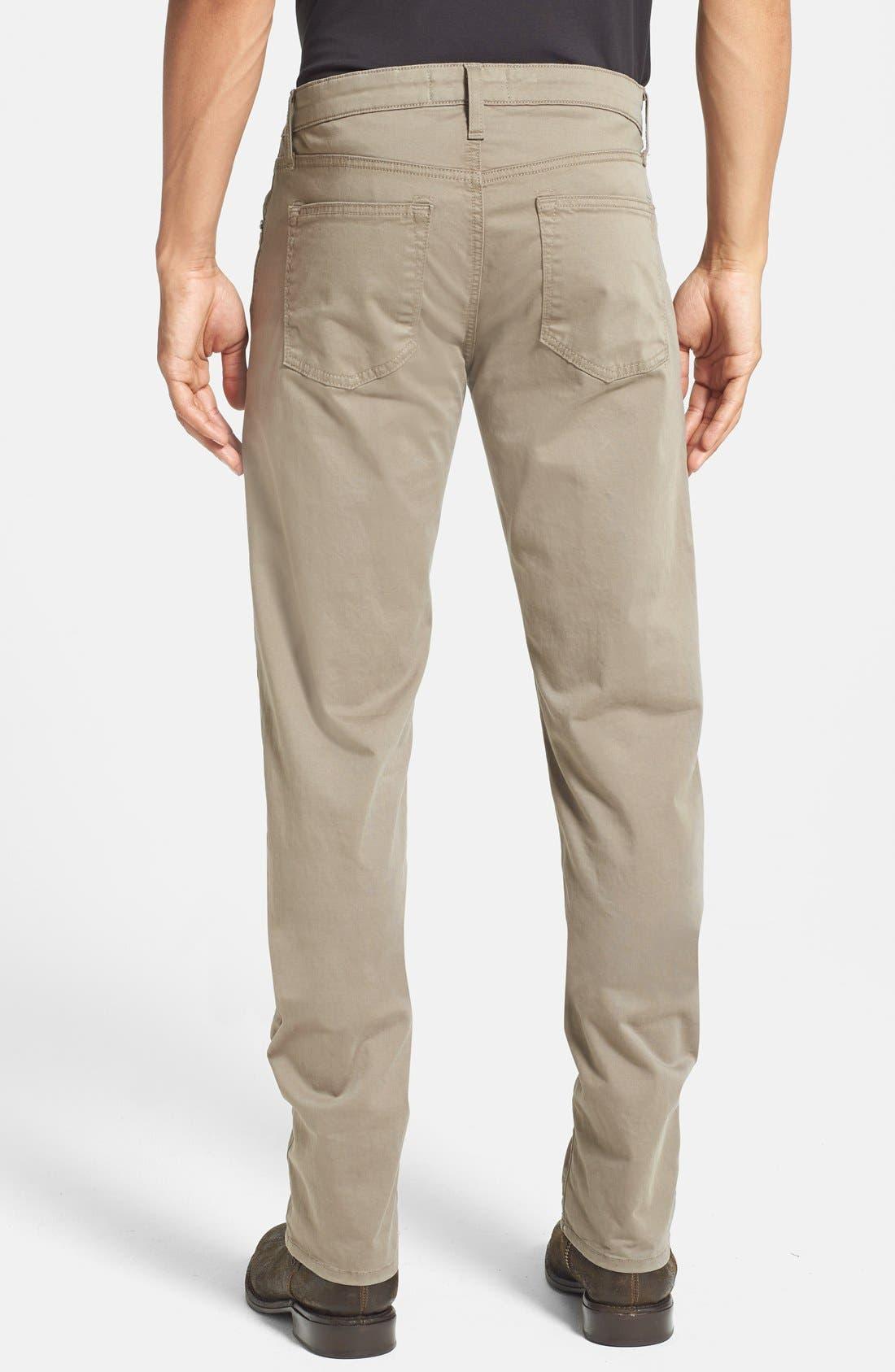 'Kane' Slim Fit Cotton Twill Pants,                             Alternate thumbnail 59, color,