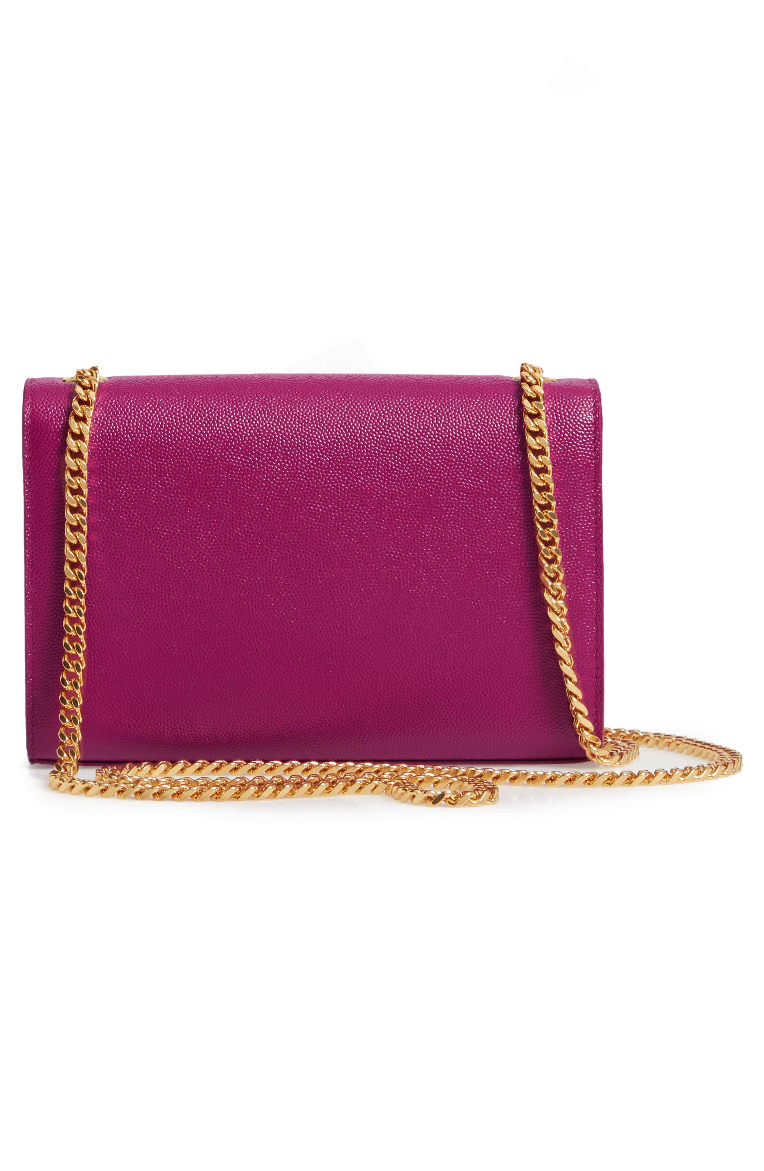 Small Kate Chain Crossbody Bag,                             Alternate thumbnail 3, color,                             LIGHT GRAPE