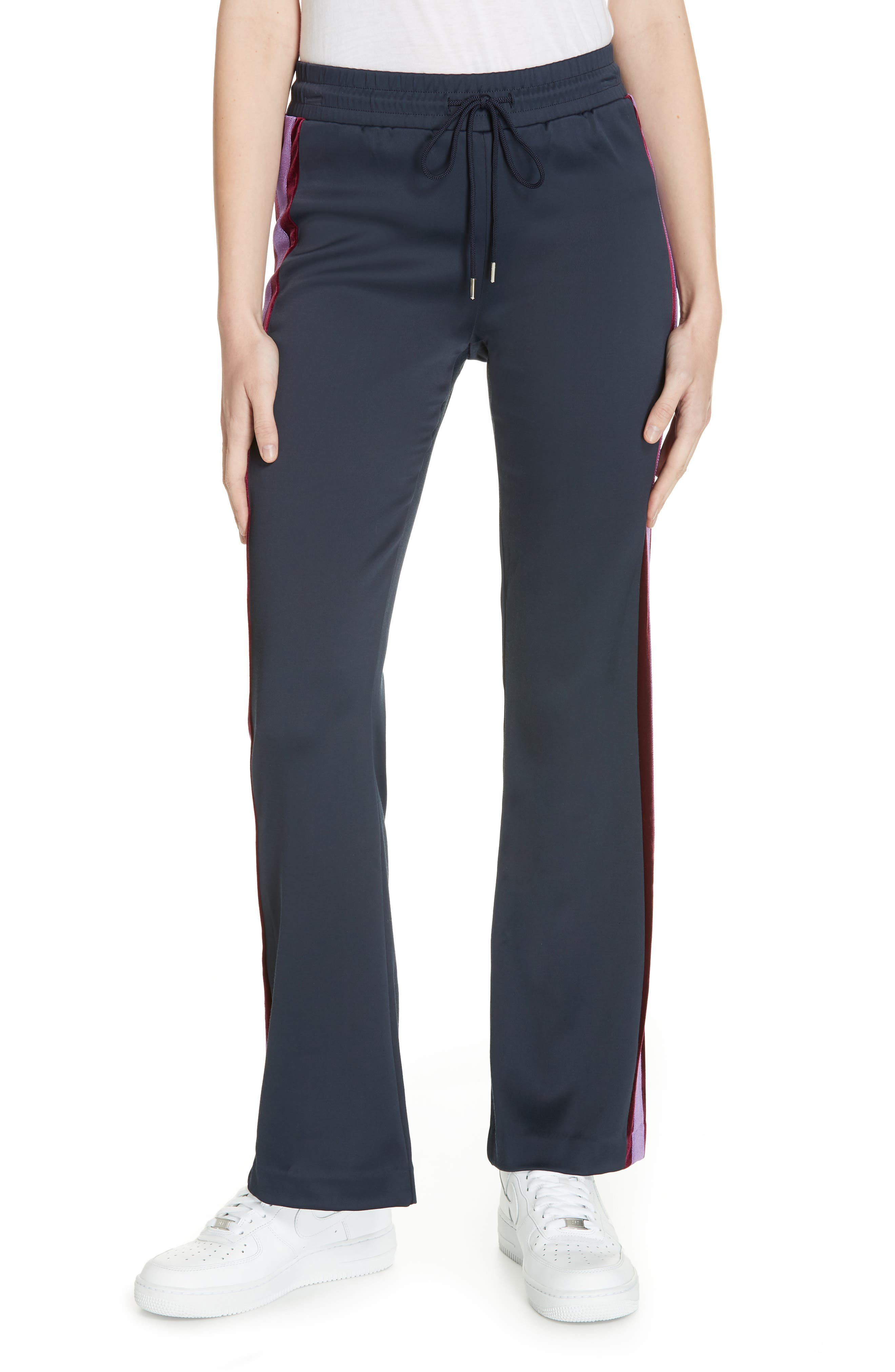 Track Pants,                         Main,                         color, DEEP NAVY