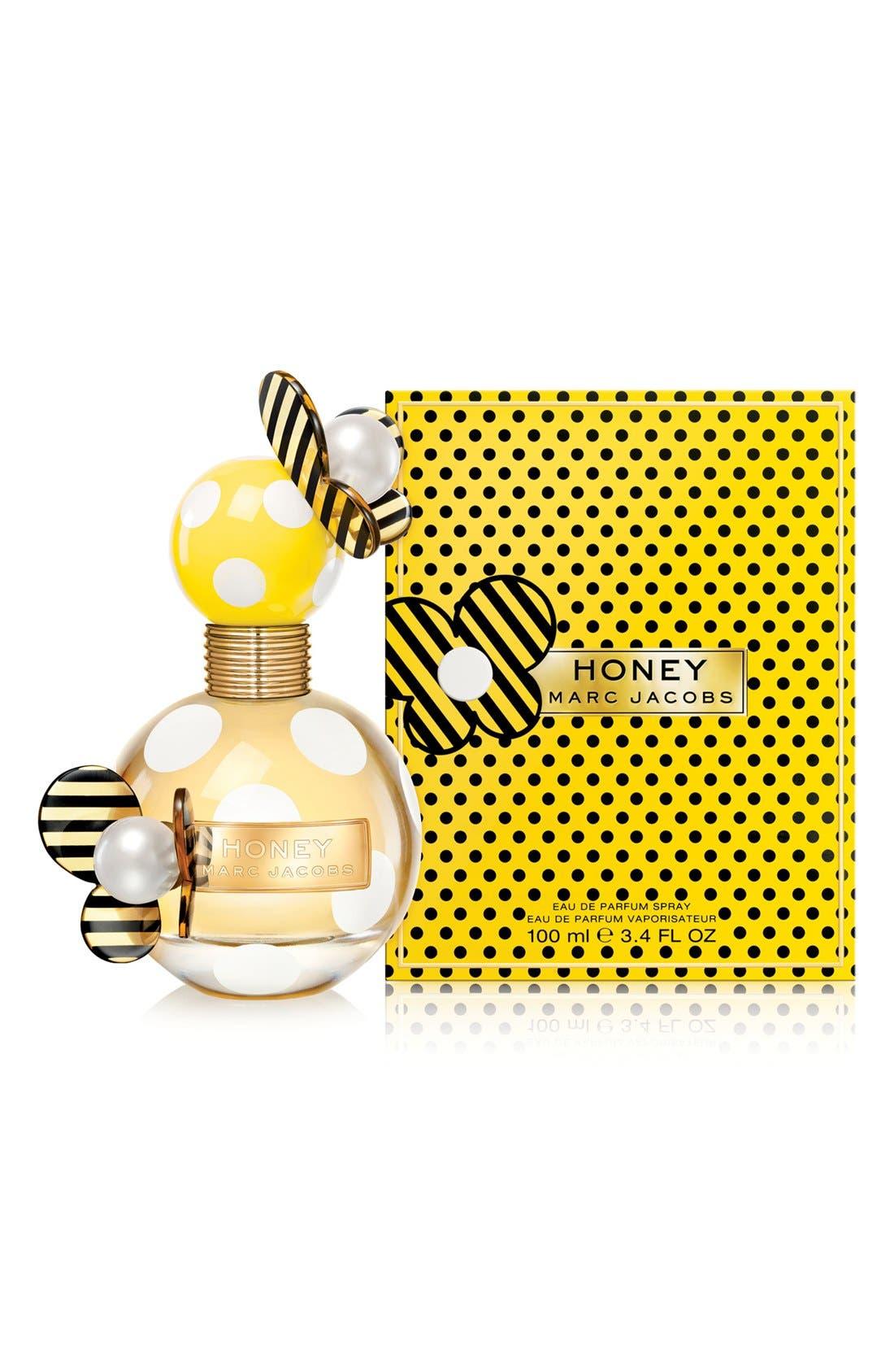 'Honey' Eau de Parfum,                             Alternate thumbnail 3, color,                             000