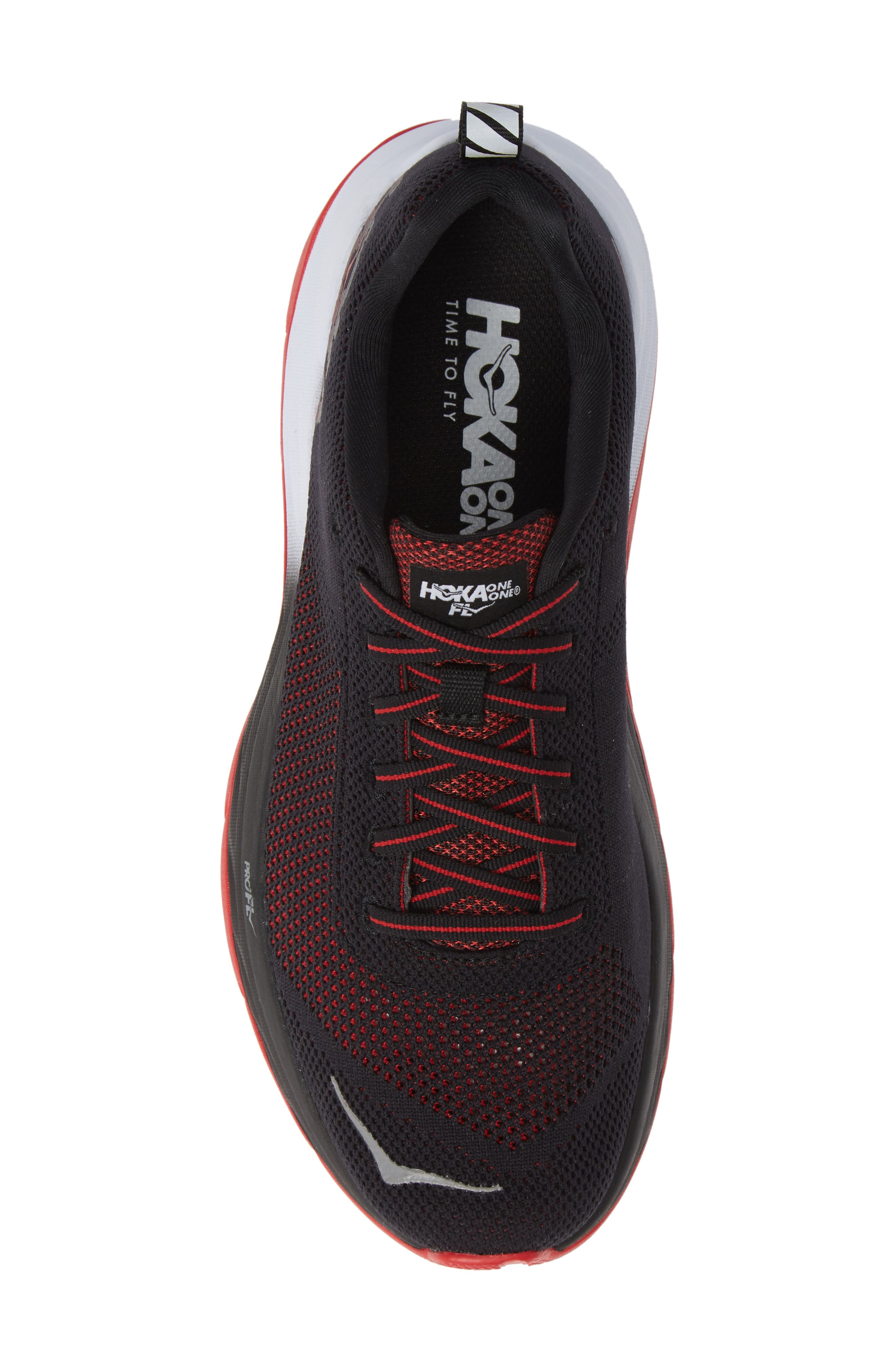 Mach Running Shoe,                             Alternate thumbnail 5, color,                             BLACK/ WHITE