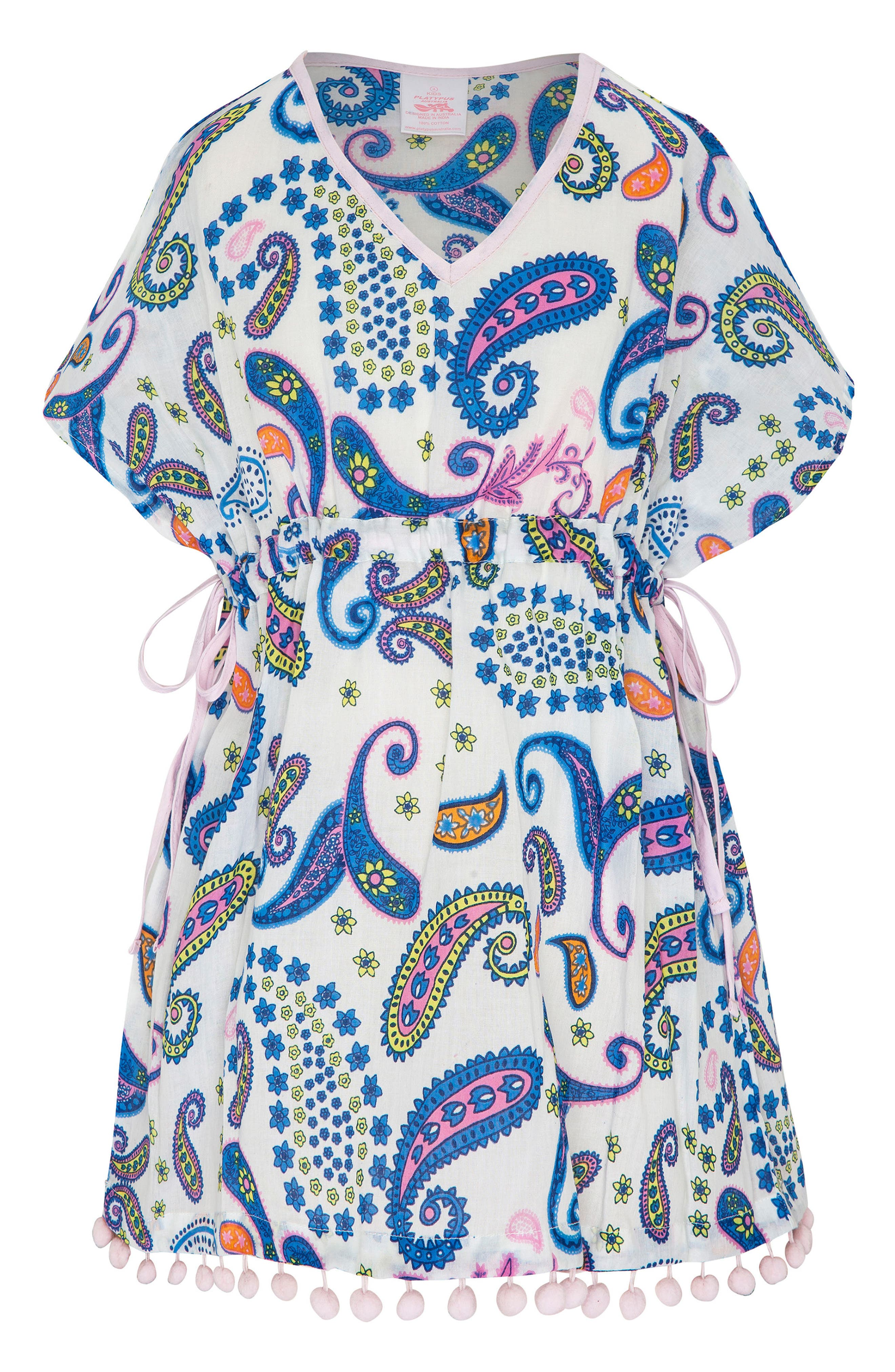 Print Cover-Up Dress,                         Main,                         color, 650