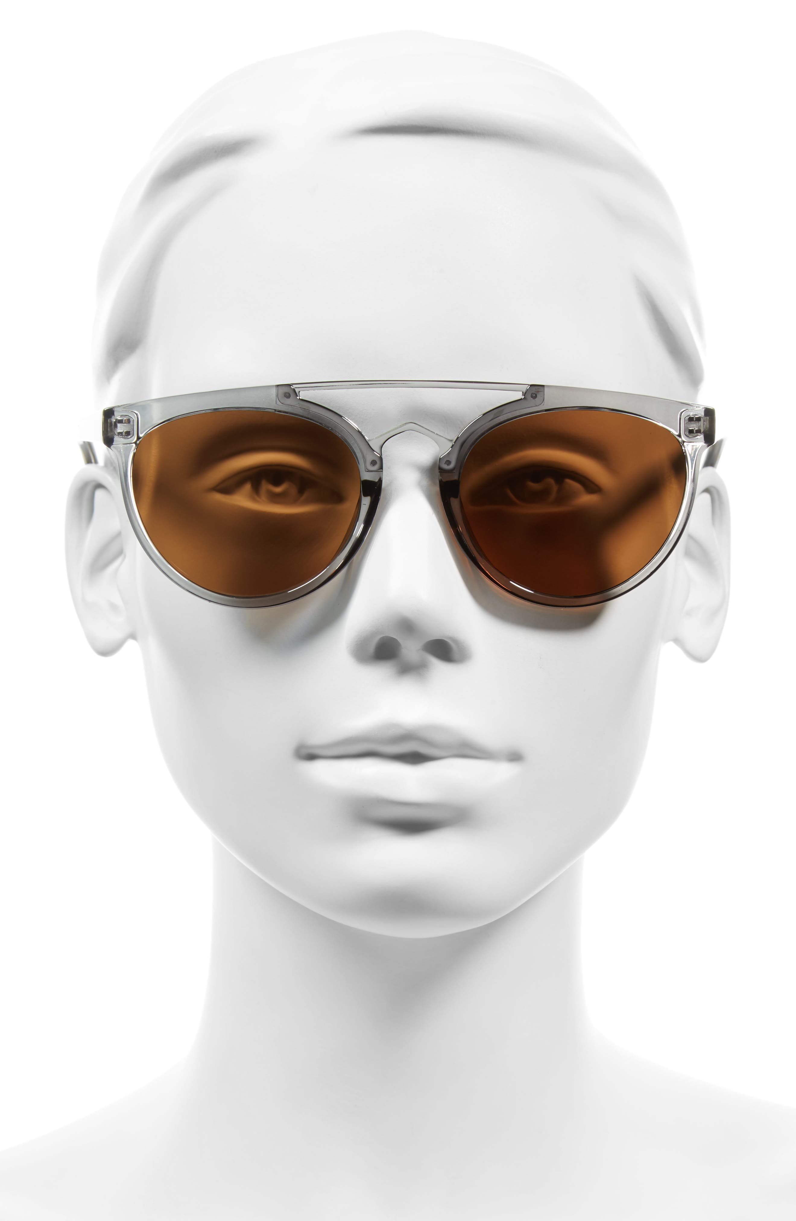 Rose 53mm Retro Sunglasses,                             Alternate thumbnail 6, color,