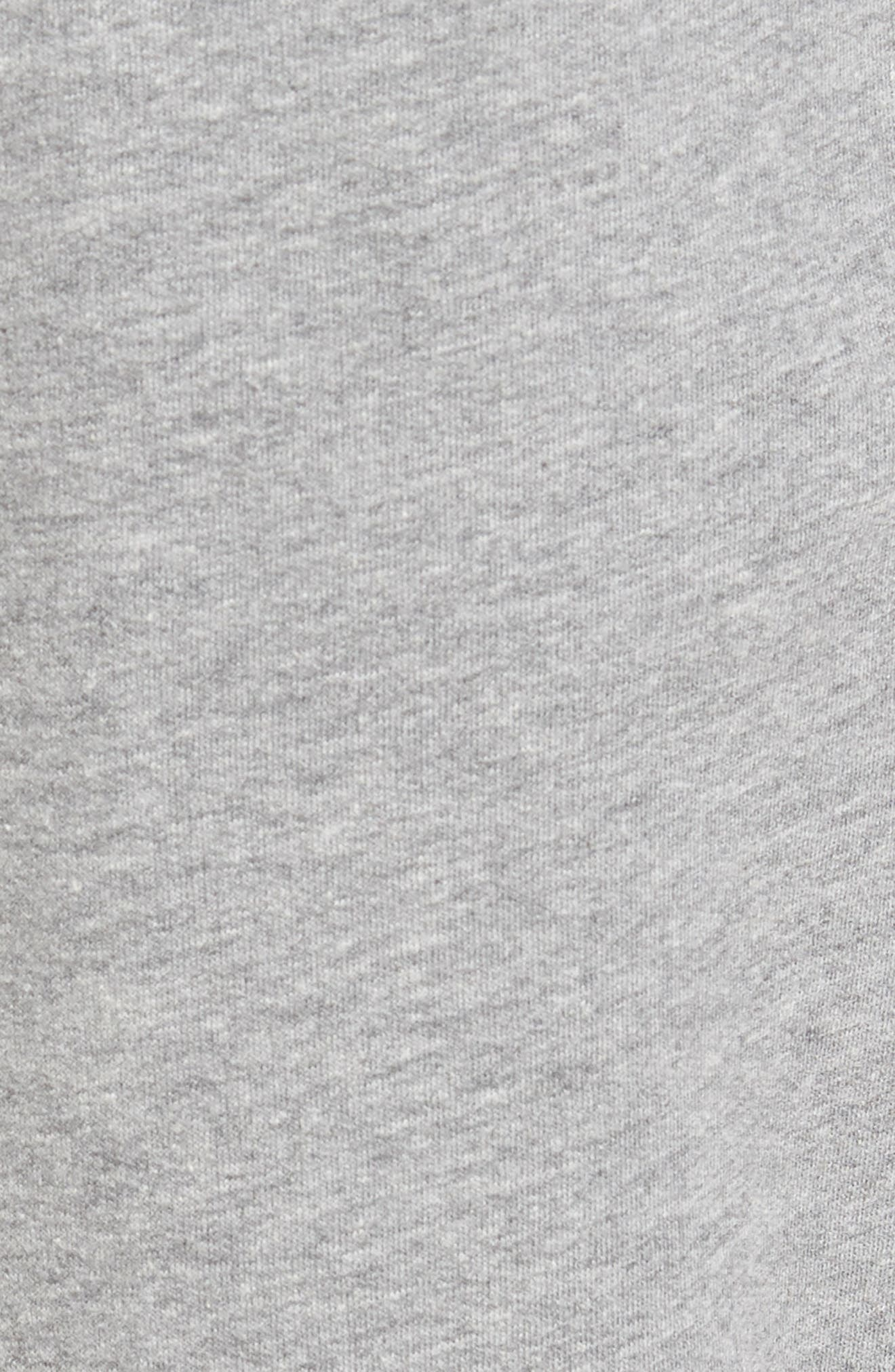 Jogger Lounge Pants,                             Alternate thumbnail 5, color,                             GREY HEATHER
