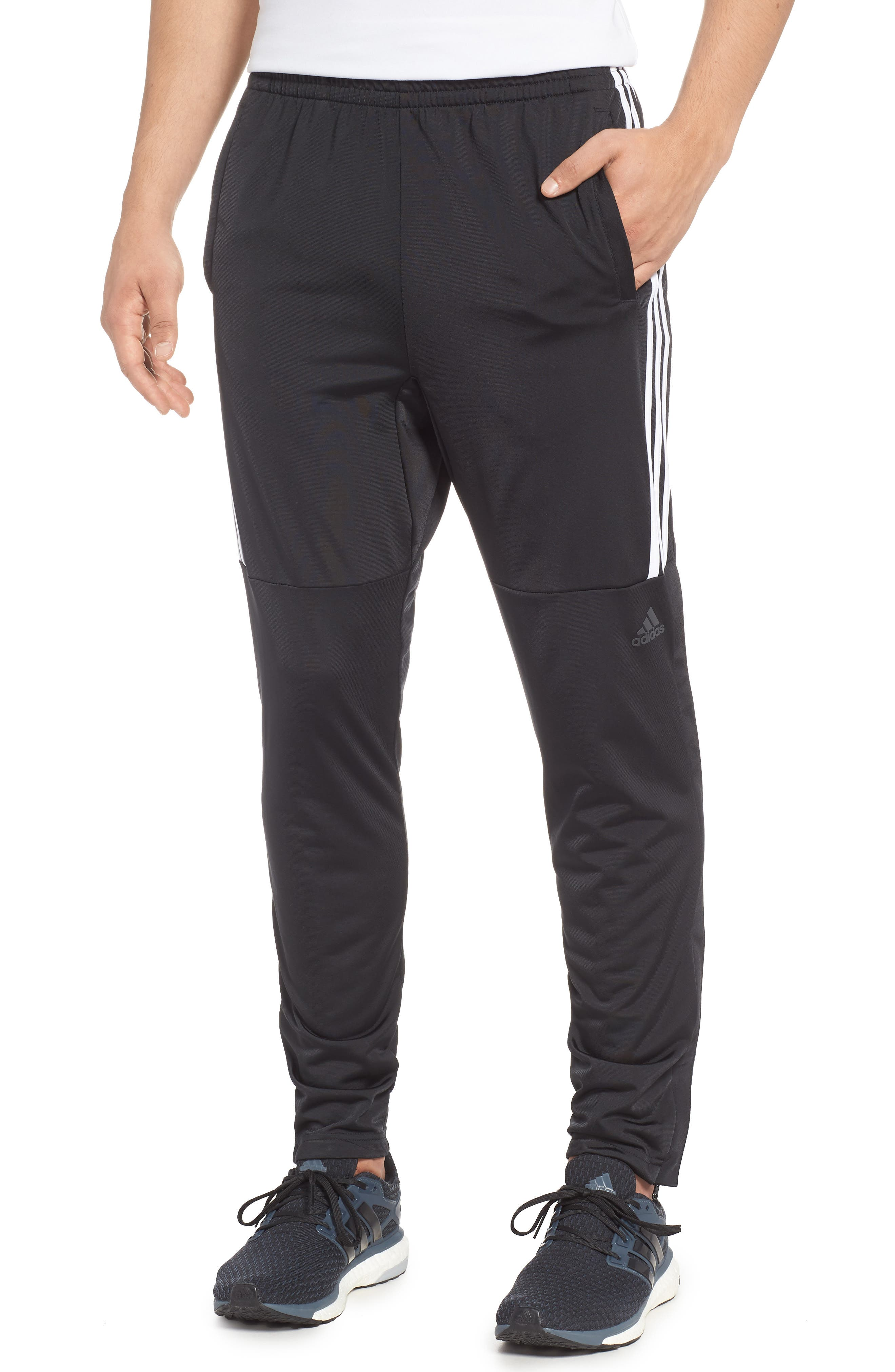 ID Tricot Track Pants,                         Main,                         color, BLACK