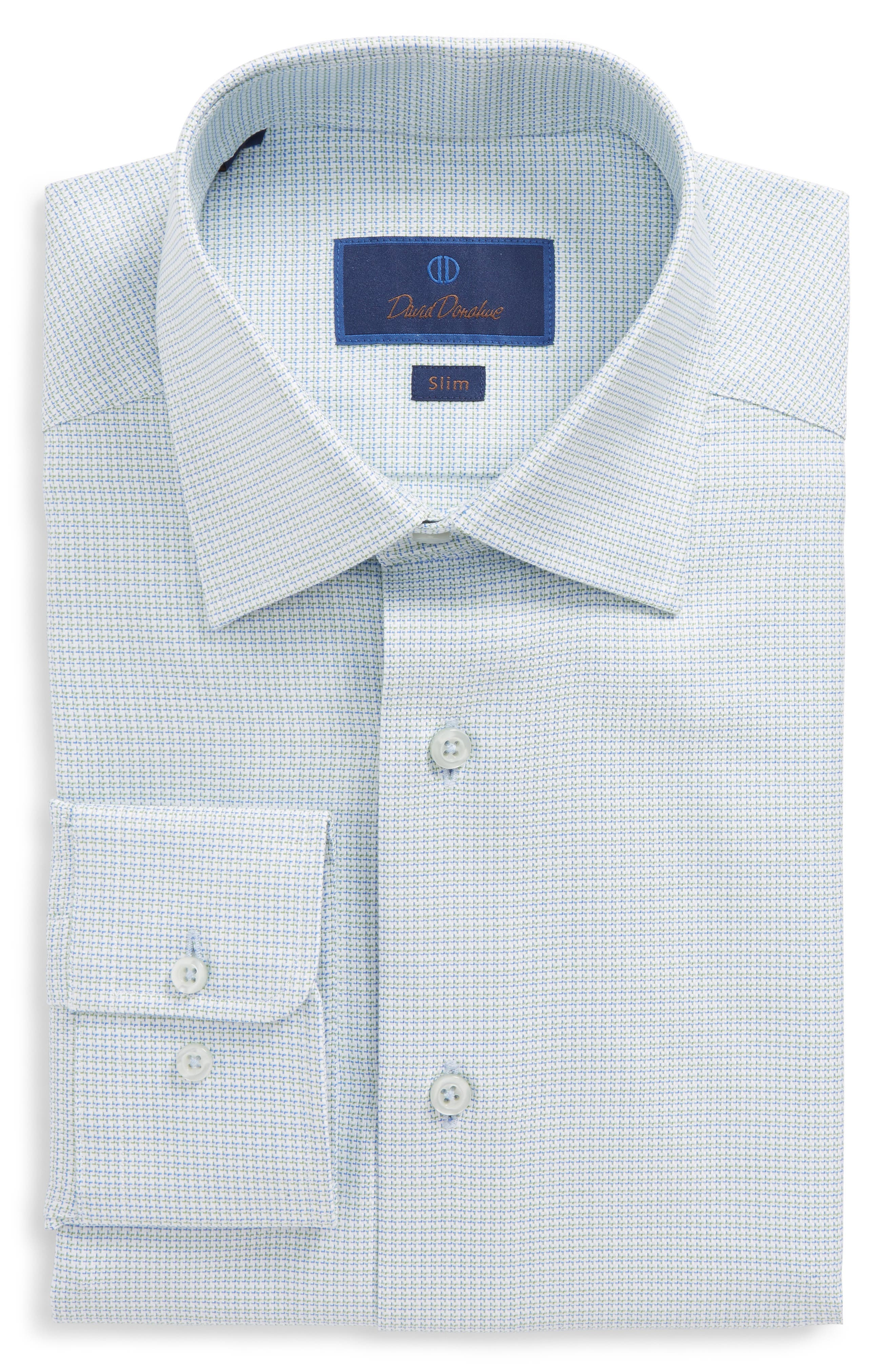 Slim Fit Solid Dress Shirt,                             Main thumbnail 1, color,                             310