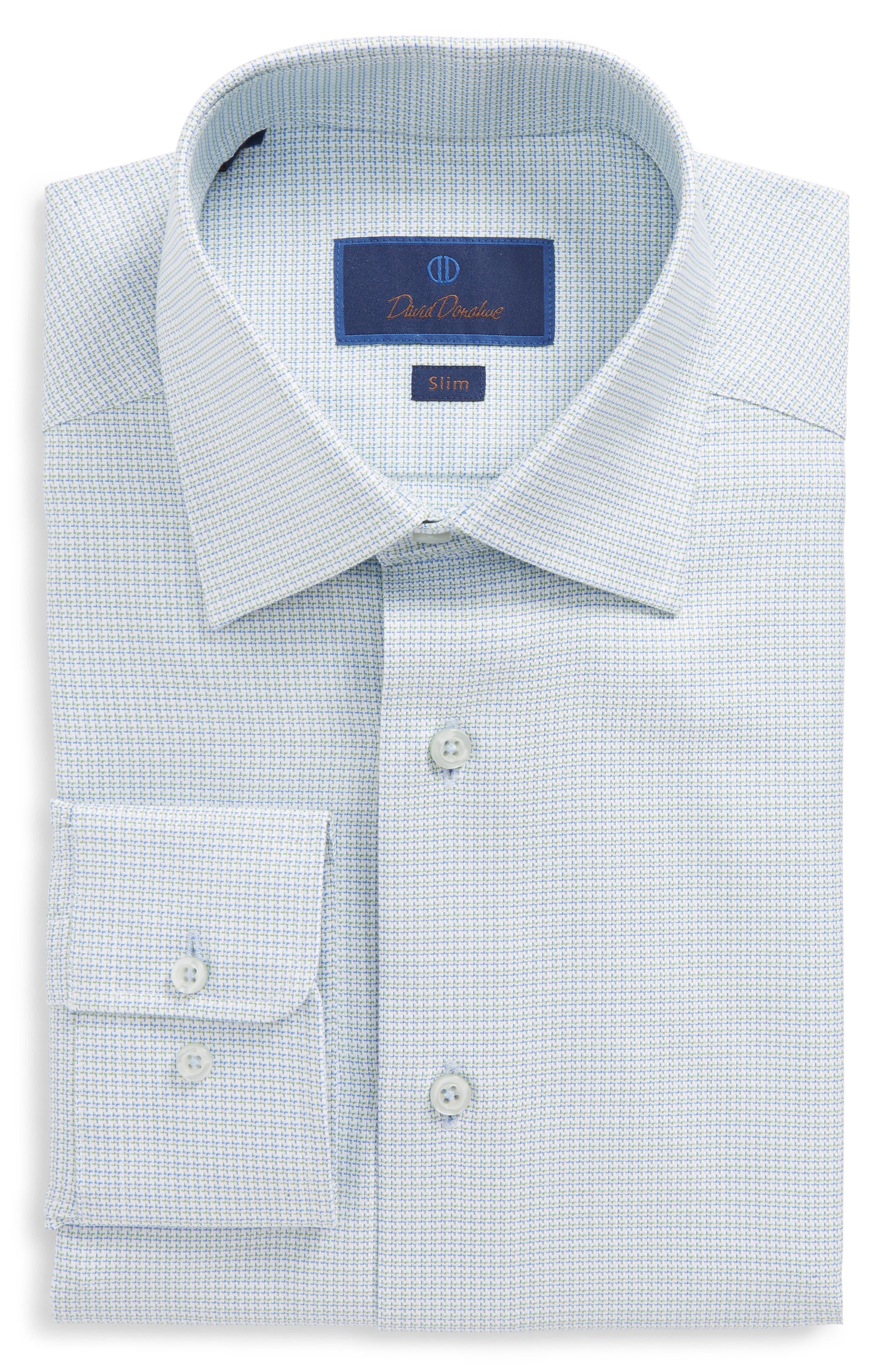 Slim Fit Solid Dress Shirt,                         Main,                         color, 310