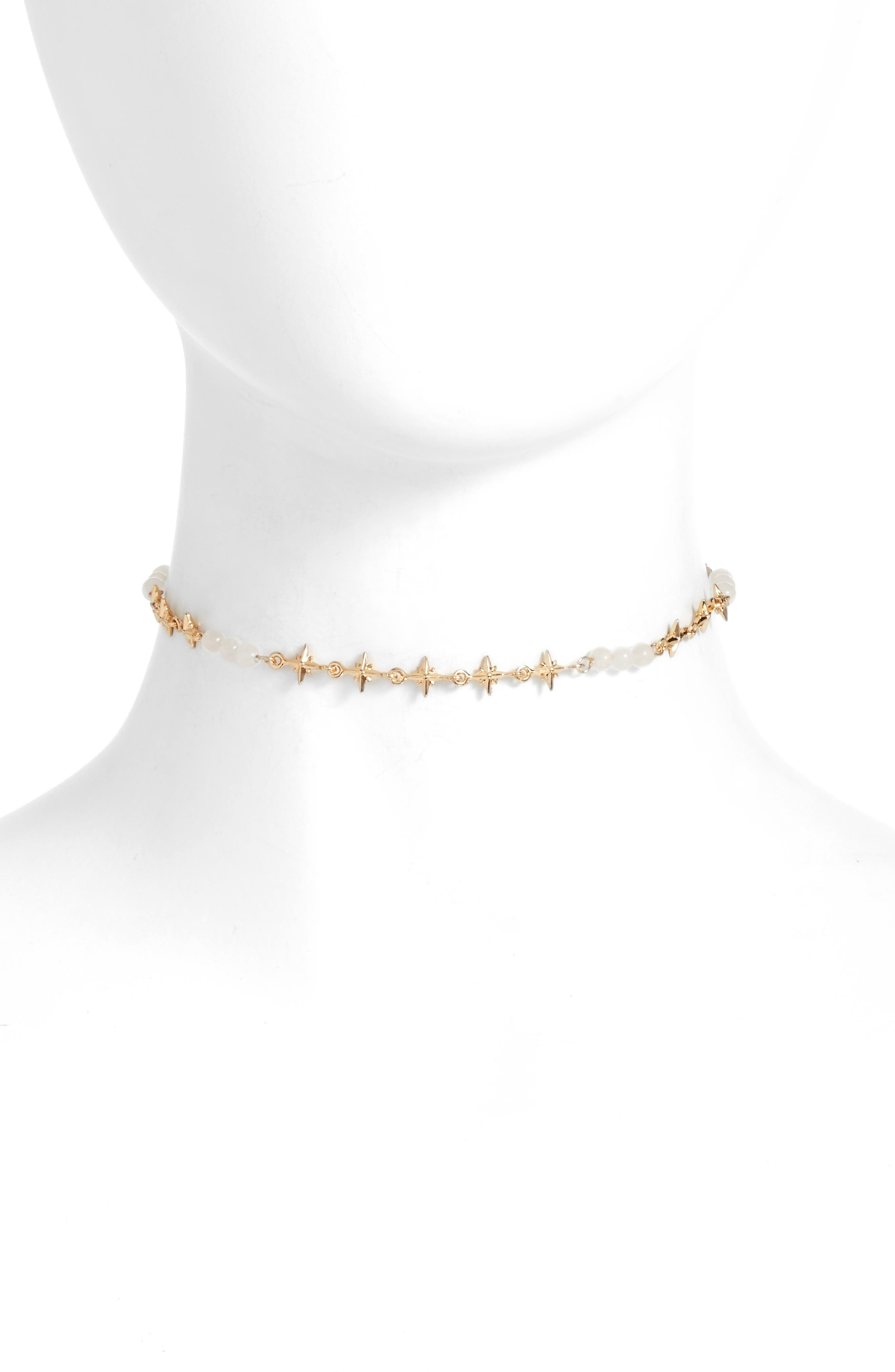 Star Chain Choker,                             Main thumbnail 1, color,                             710