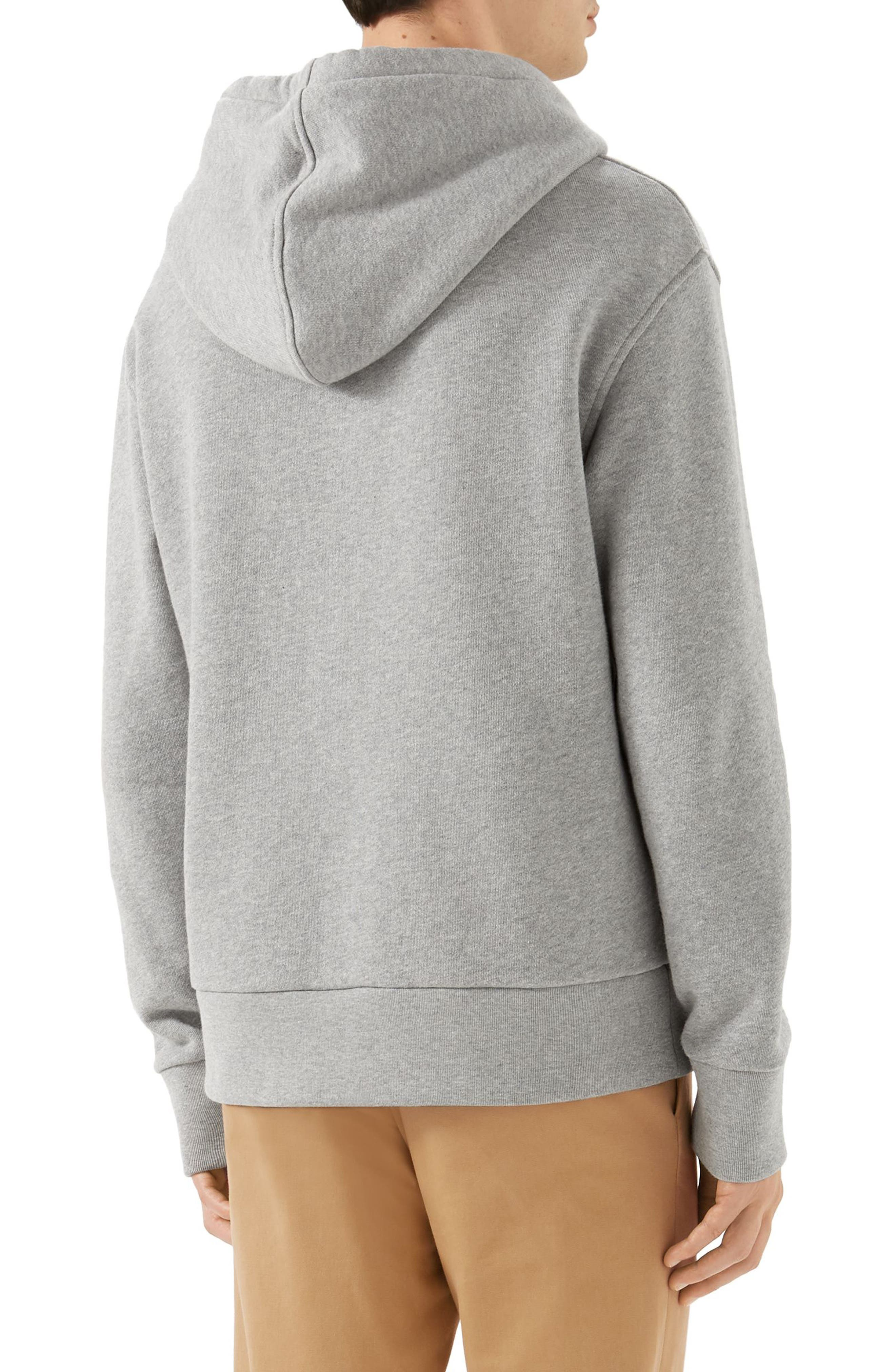 Invitation Graphic Hoodie,                             Alternate thumbnail 2, color,                             GREY MELANGE