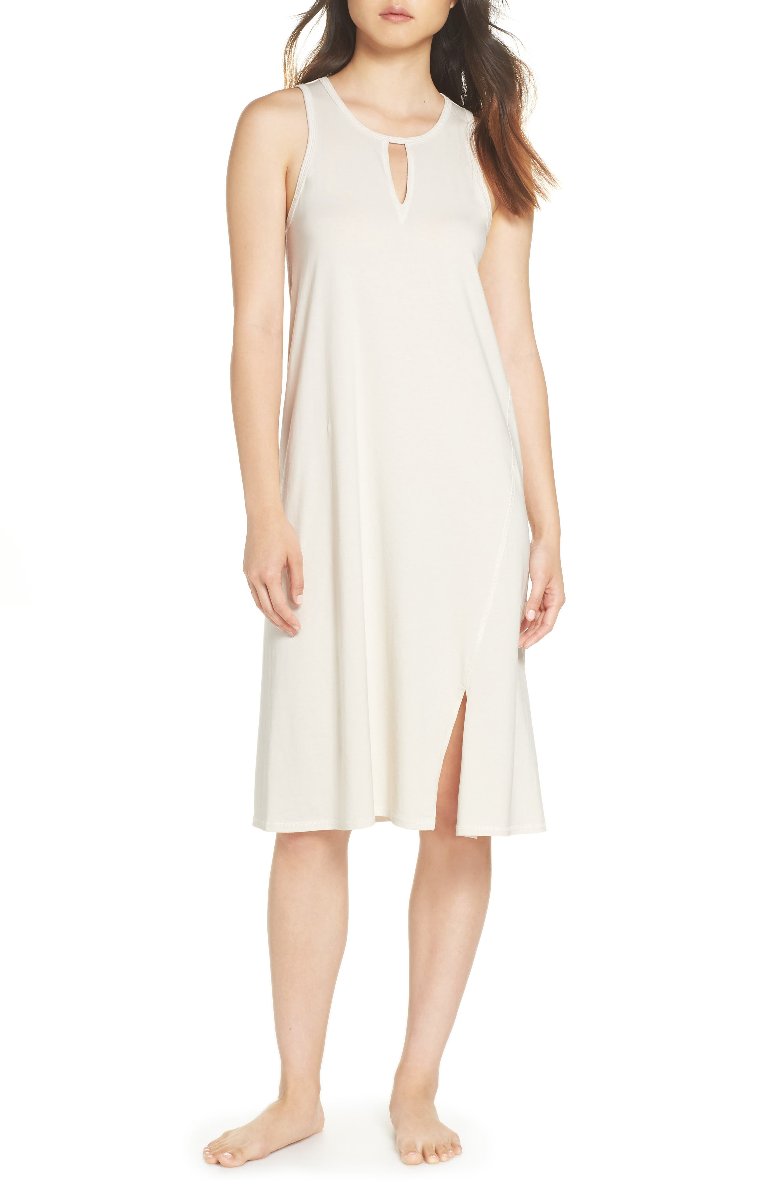 NAKED Lucia Nightgown in Macadamia