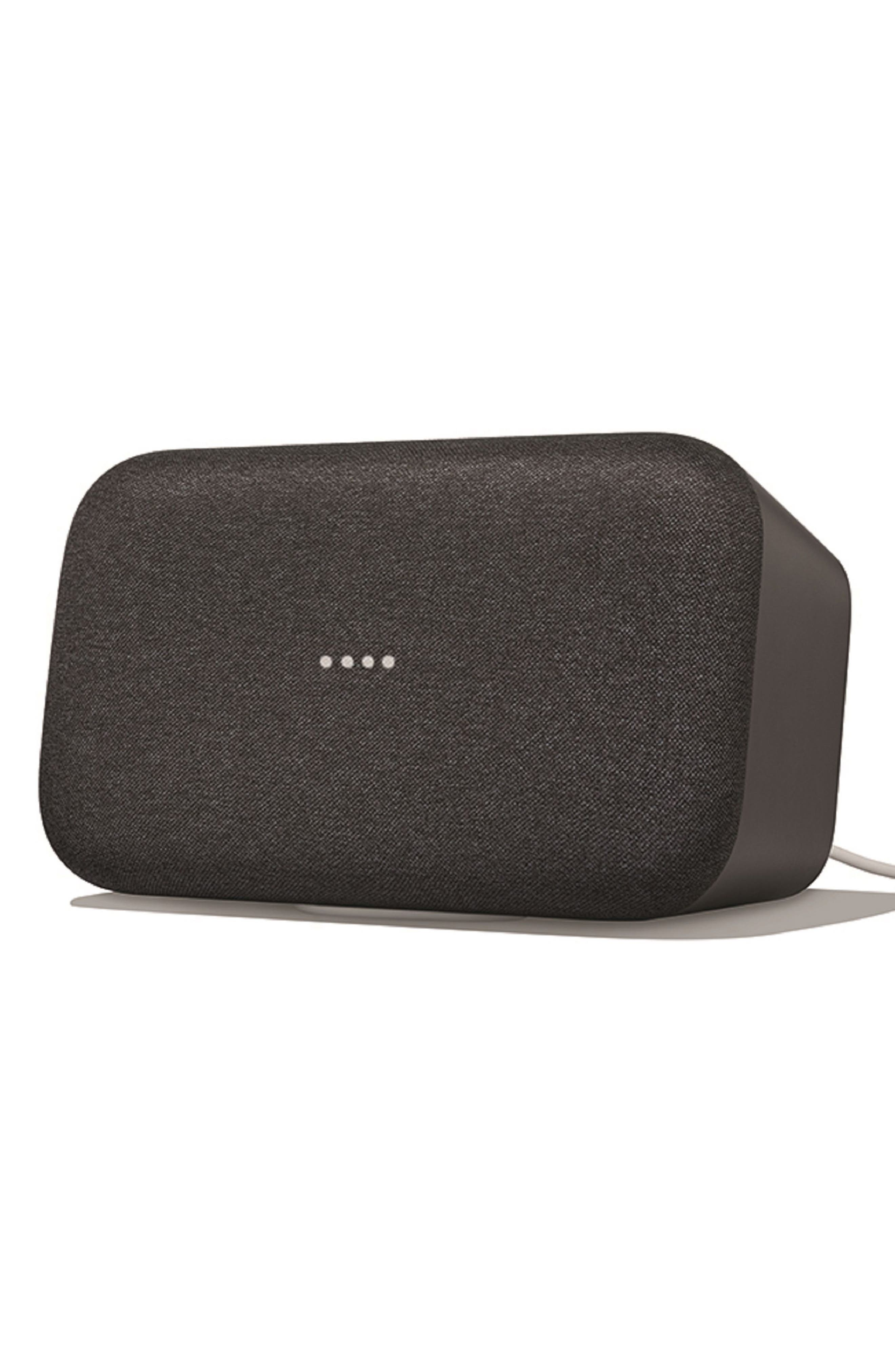 GOOGLE Home Max Wireless Speaker, Main, color, 010