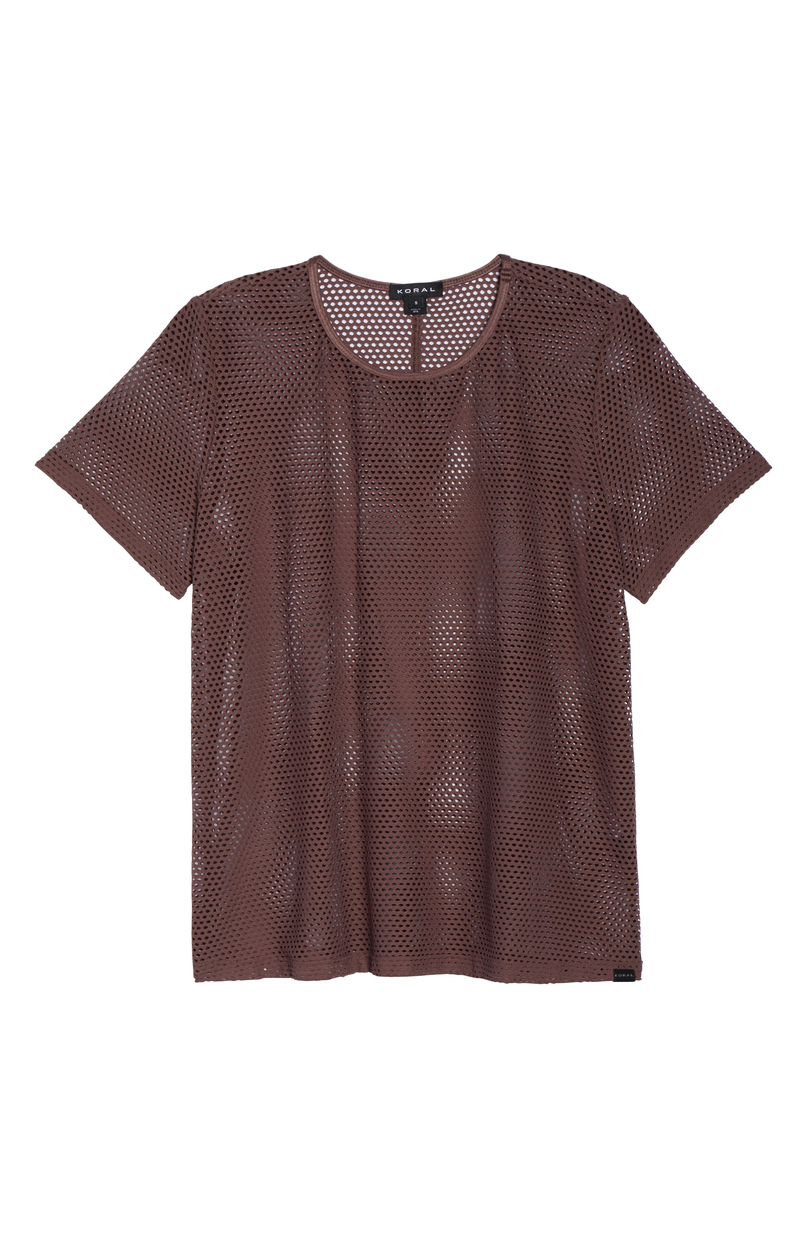 Size Up Mesh Tee,                             Alternate thumbnail 7, color,                             530