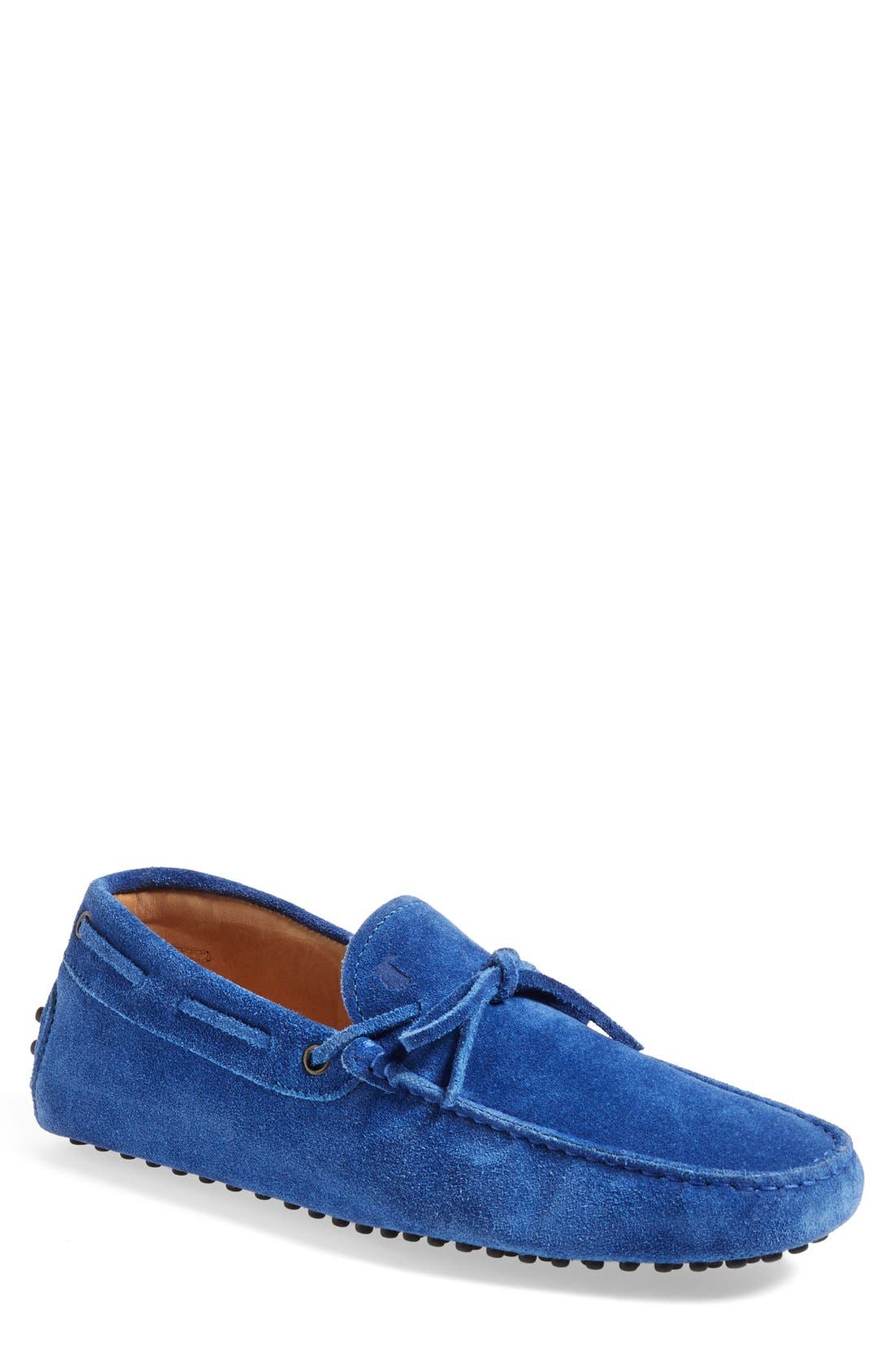 Gommini Tie Front Driving Moccasin,                             Main thumbnail 12, color,