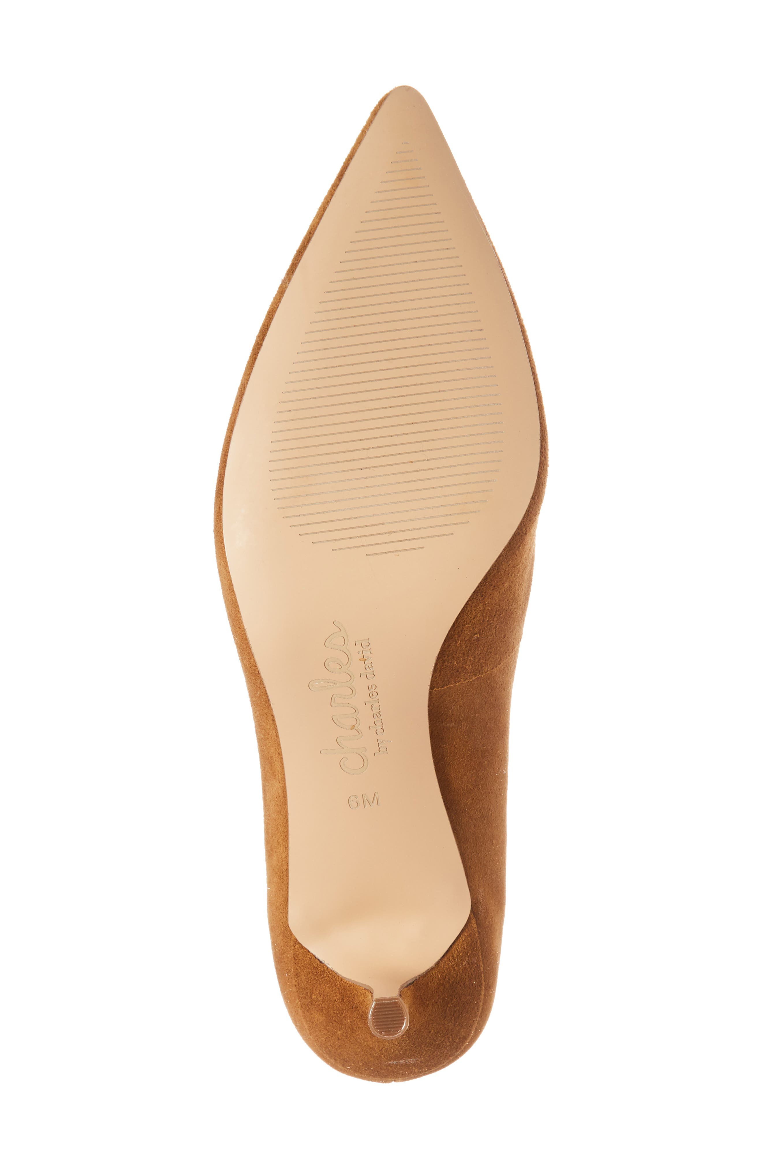Addie Pump,                             Alternate thumbnail 6, color,                             AMBER SUEDE
