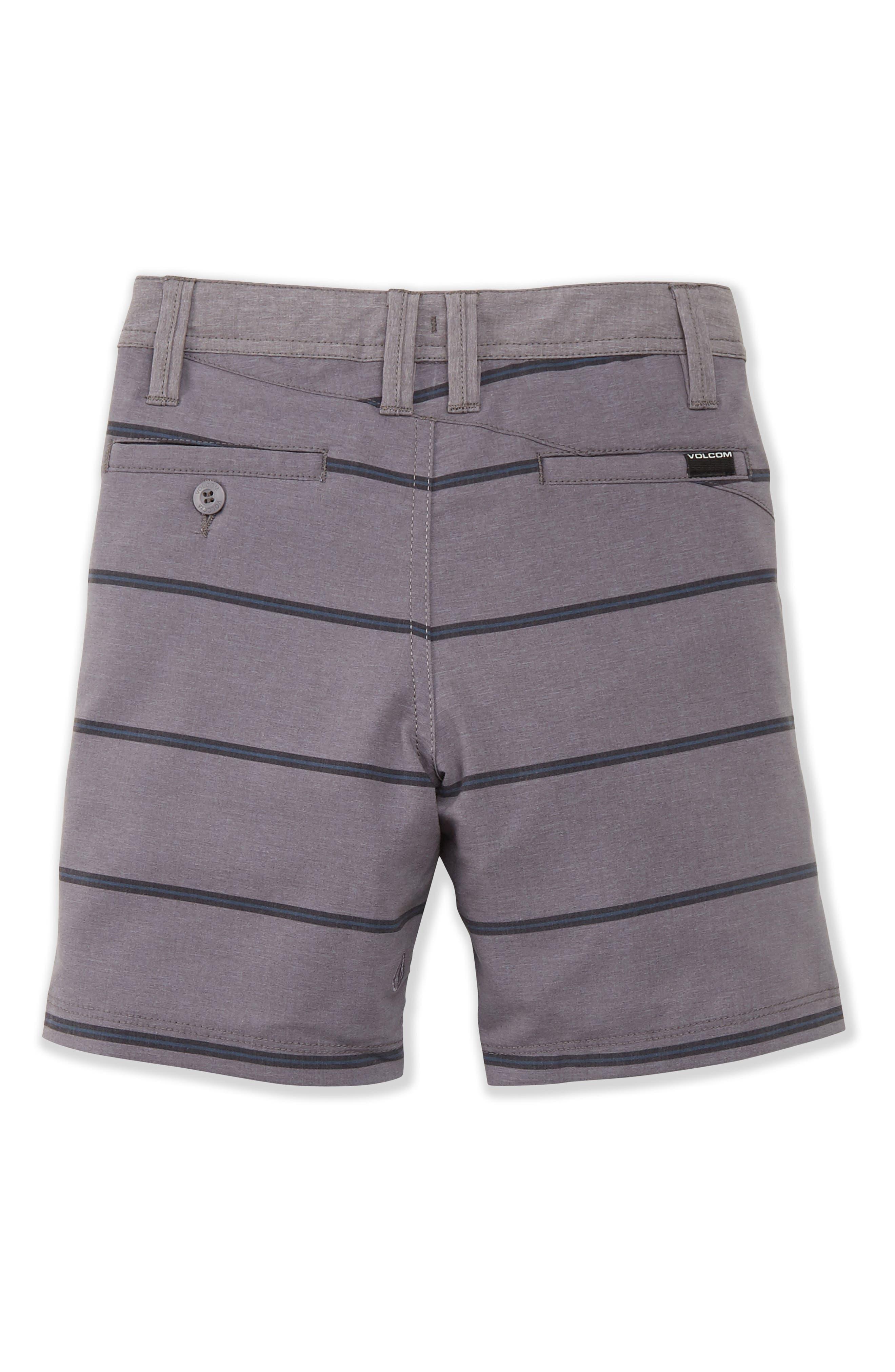 Frickin Surf N' Turf Mix Hybrid Shorts,                             Alternate thumbnail 2, color,                             GUNMETAL GREY