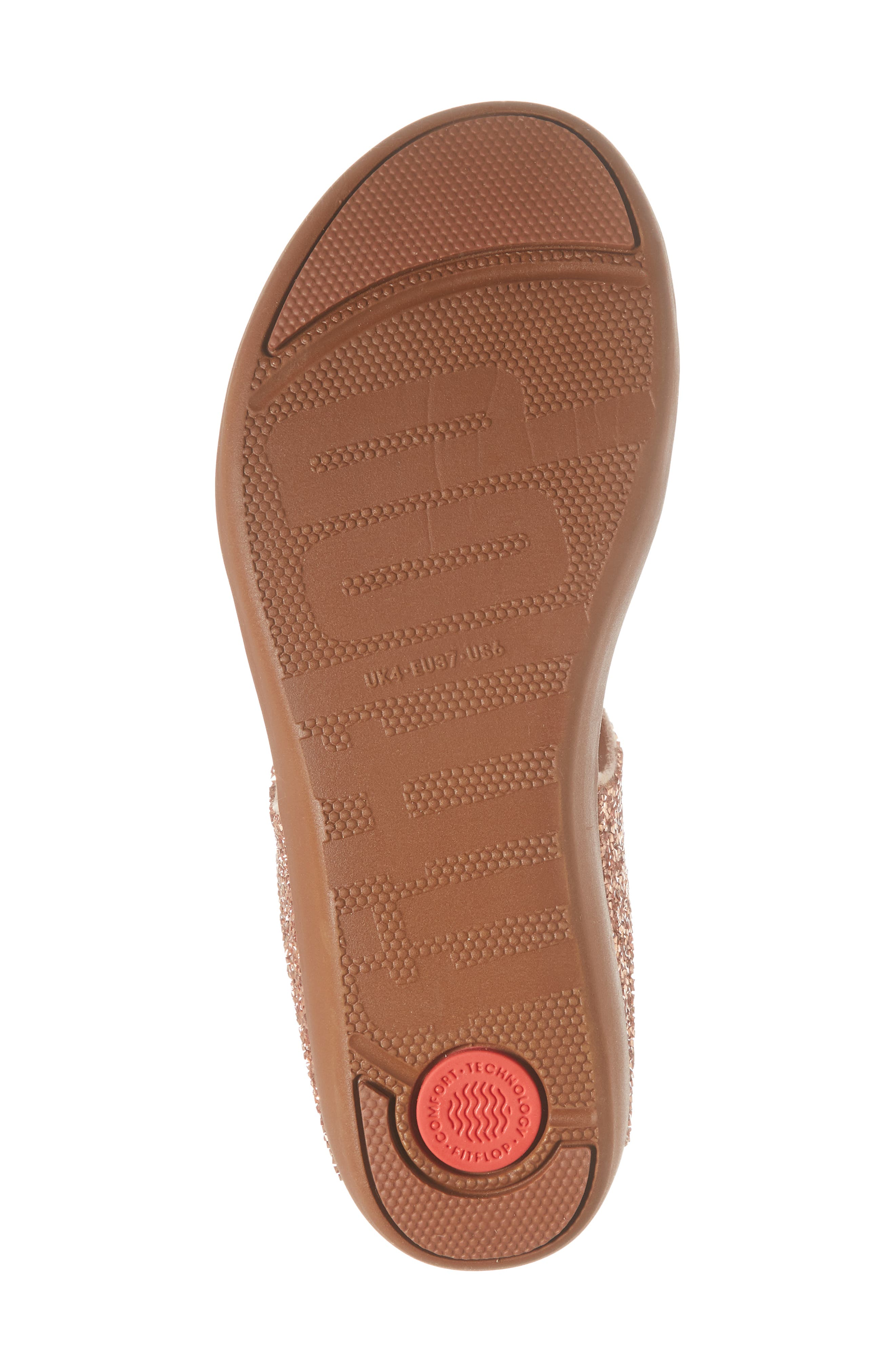 FITFLOP,                             Banda II Flip Flop,                             Alternate thumbnail 6, color,                             NUDE