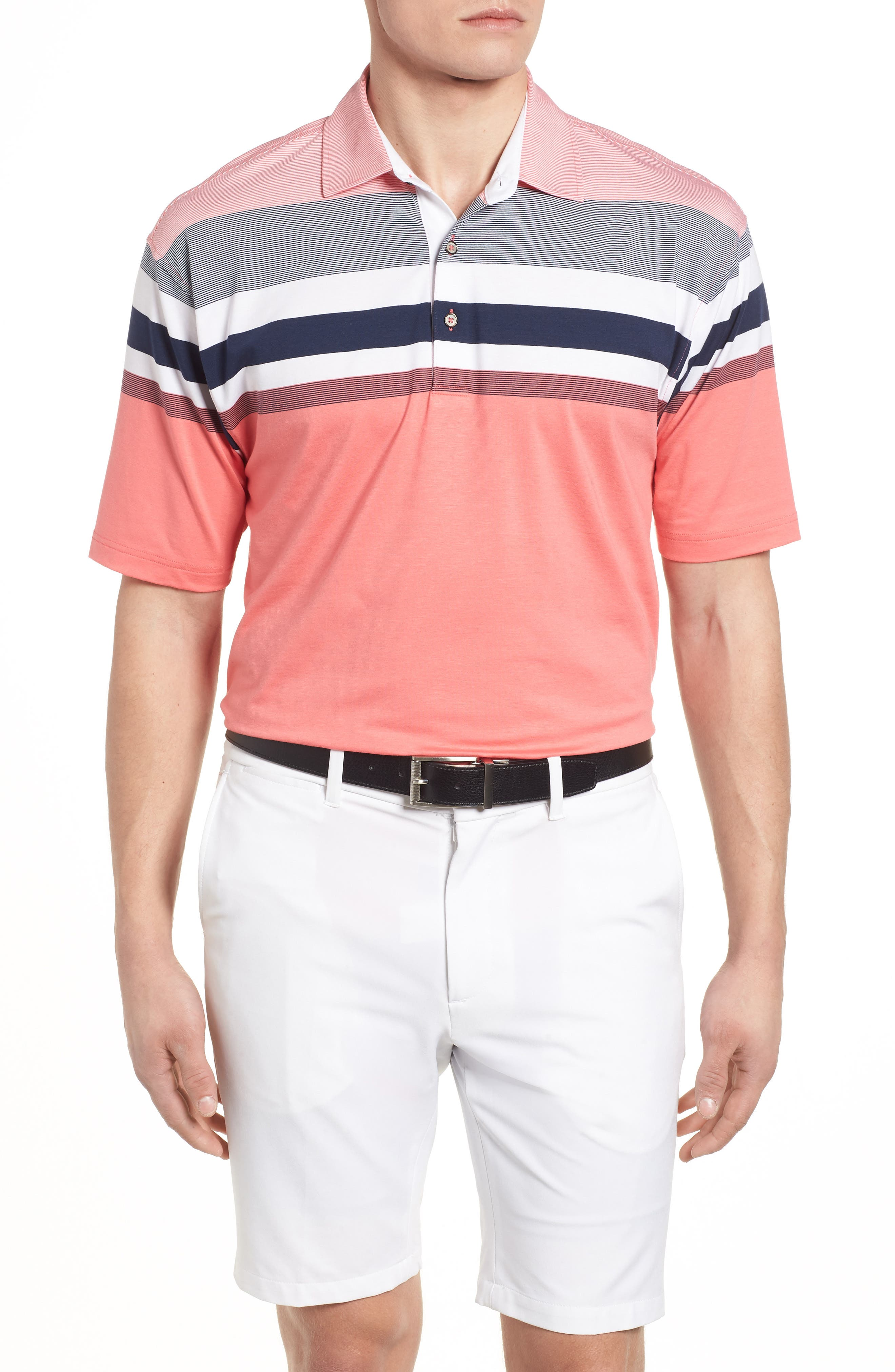 Horizon Stripe Polo,                             Main thumbnail 2, color,