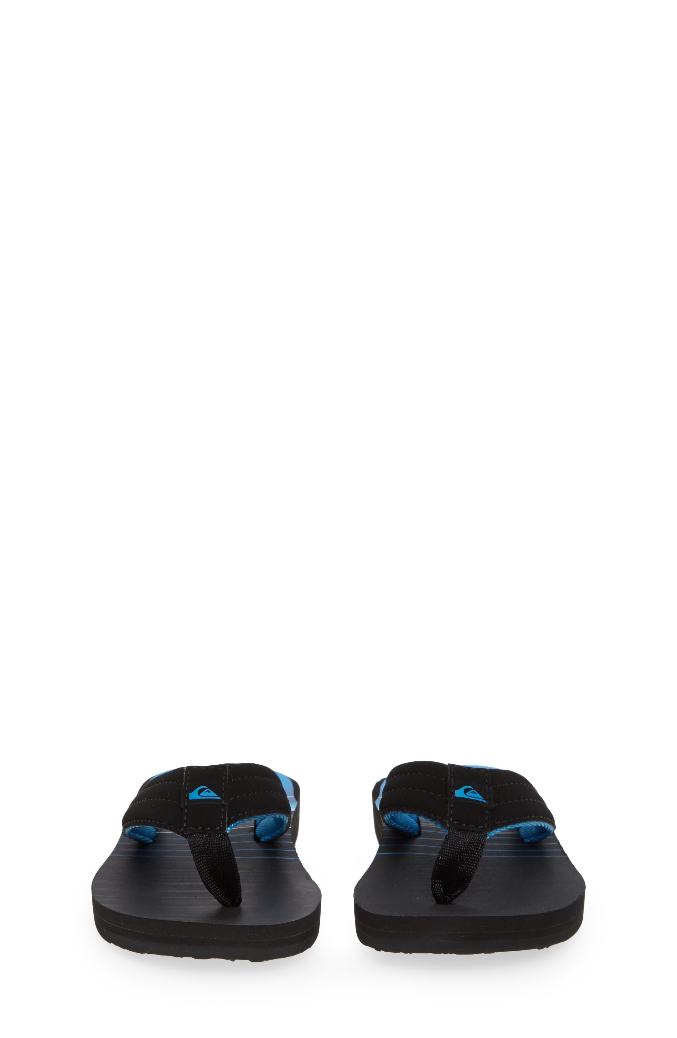Carver Flip Flop,                             Alternate thumbnail 5, color,                             BLACK/ GREY/ GREY