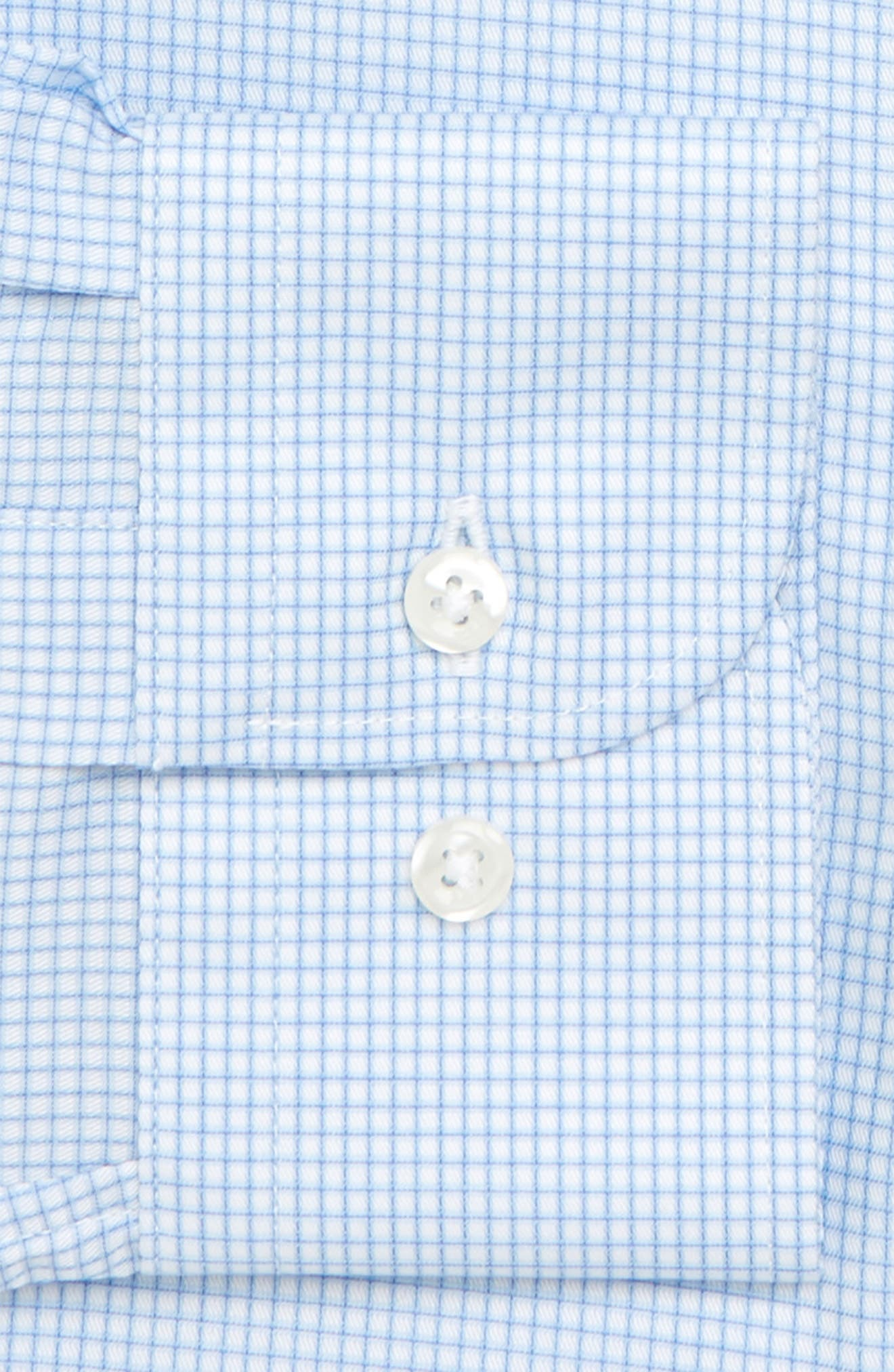 Traditional Fit Check Dress Shirt,                             Alternate thumbnail 11, color,