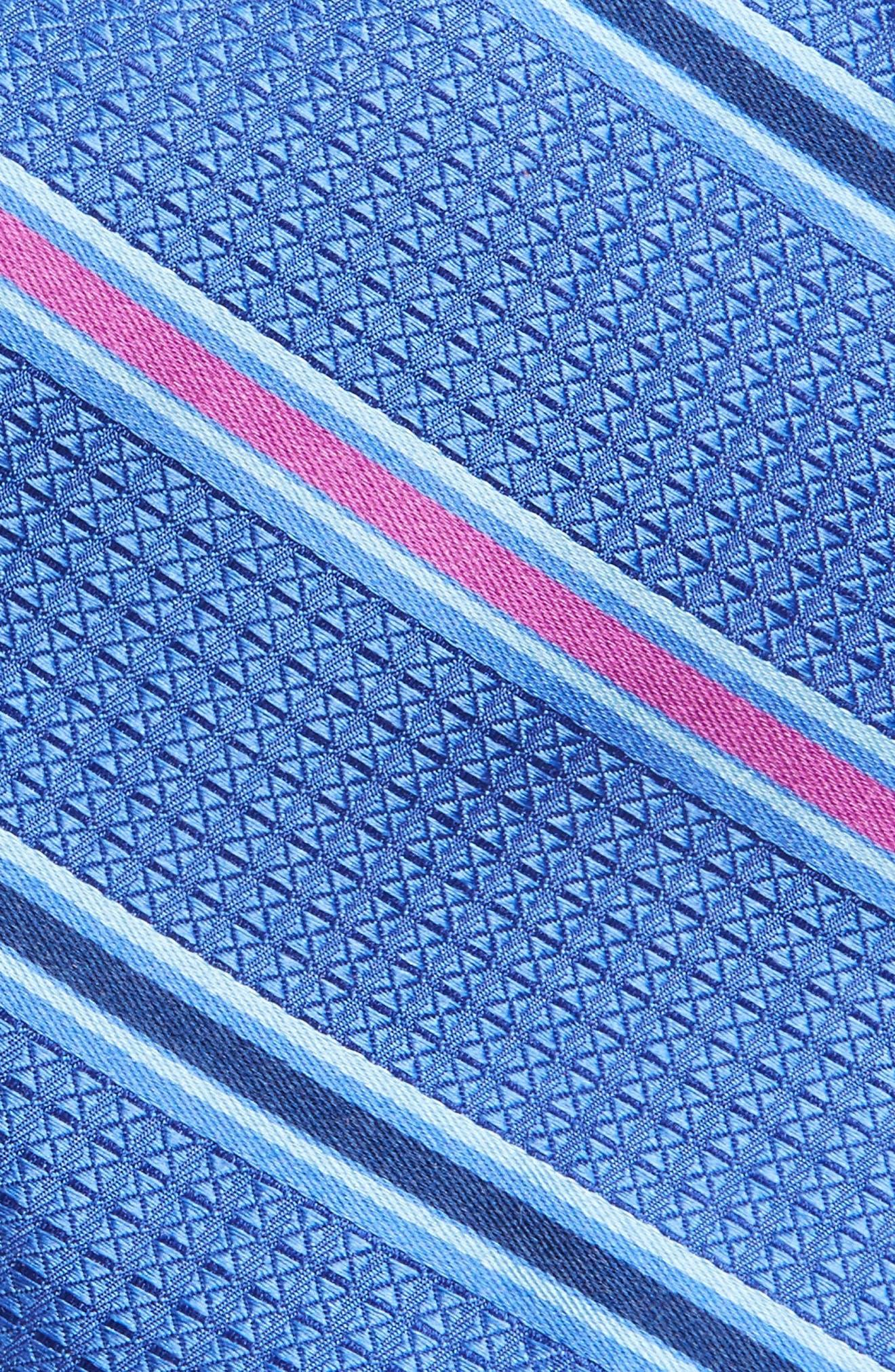 Stripe Silk Tie,                             Alternate thumbnail 7, color,