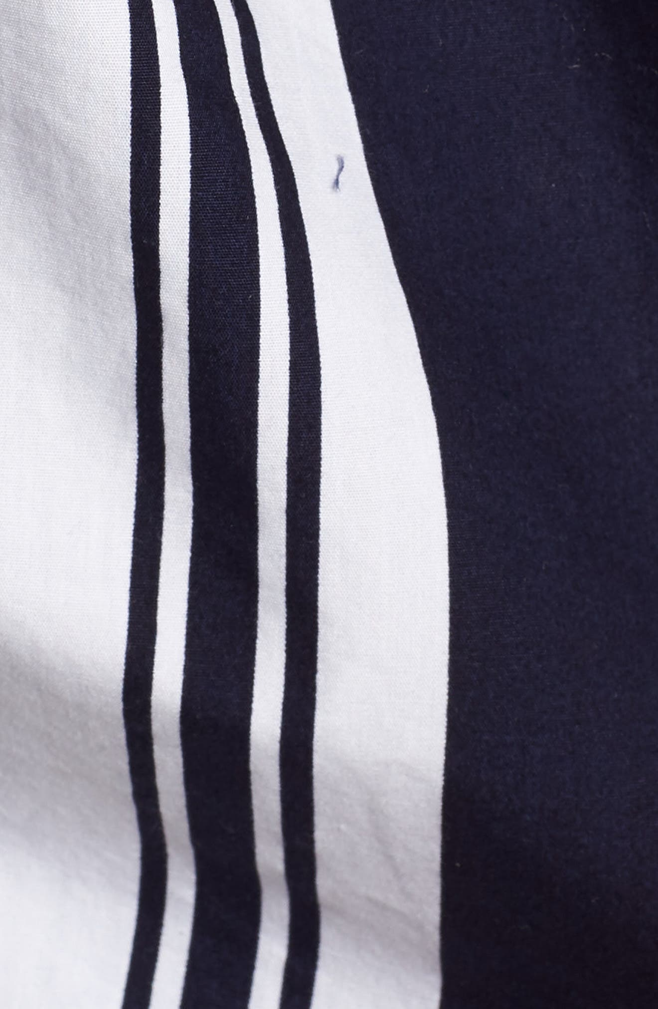 Stripe Poplin Halter Top,                             Alternate thumbnail 6, color,                             401