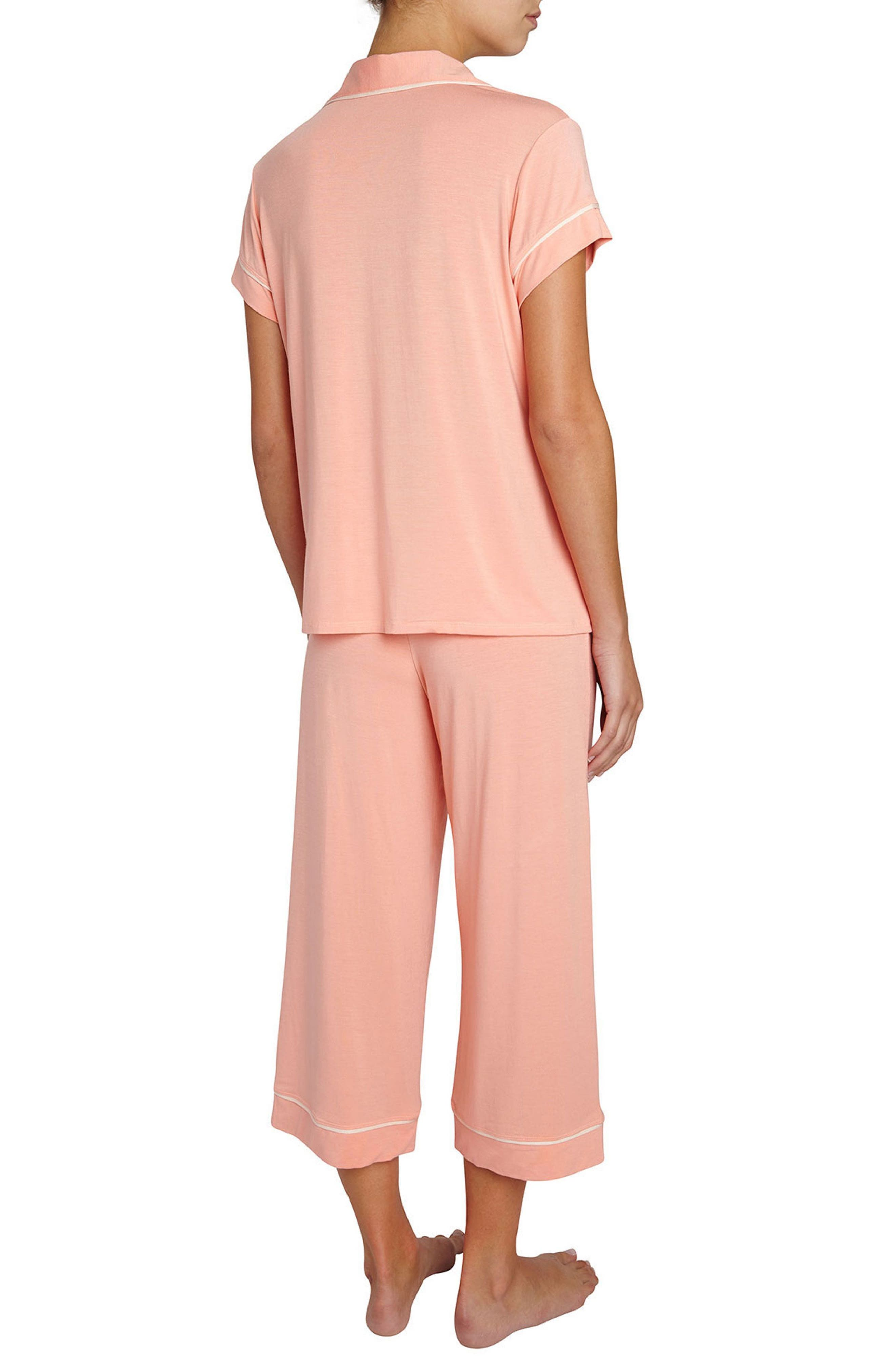 Gisele Crop Pajamas,                             Alternate thumbnail 10, color,