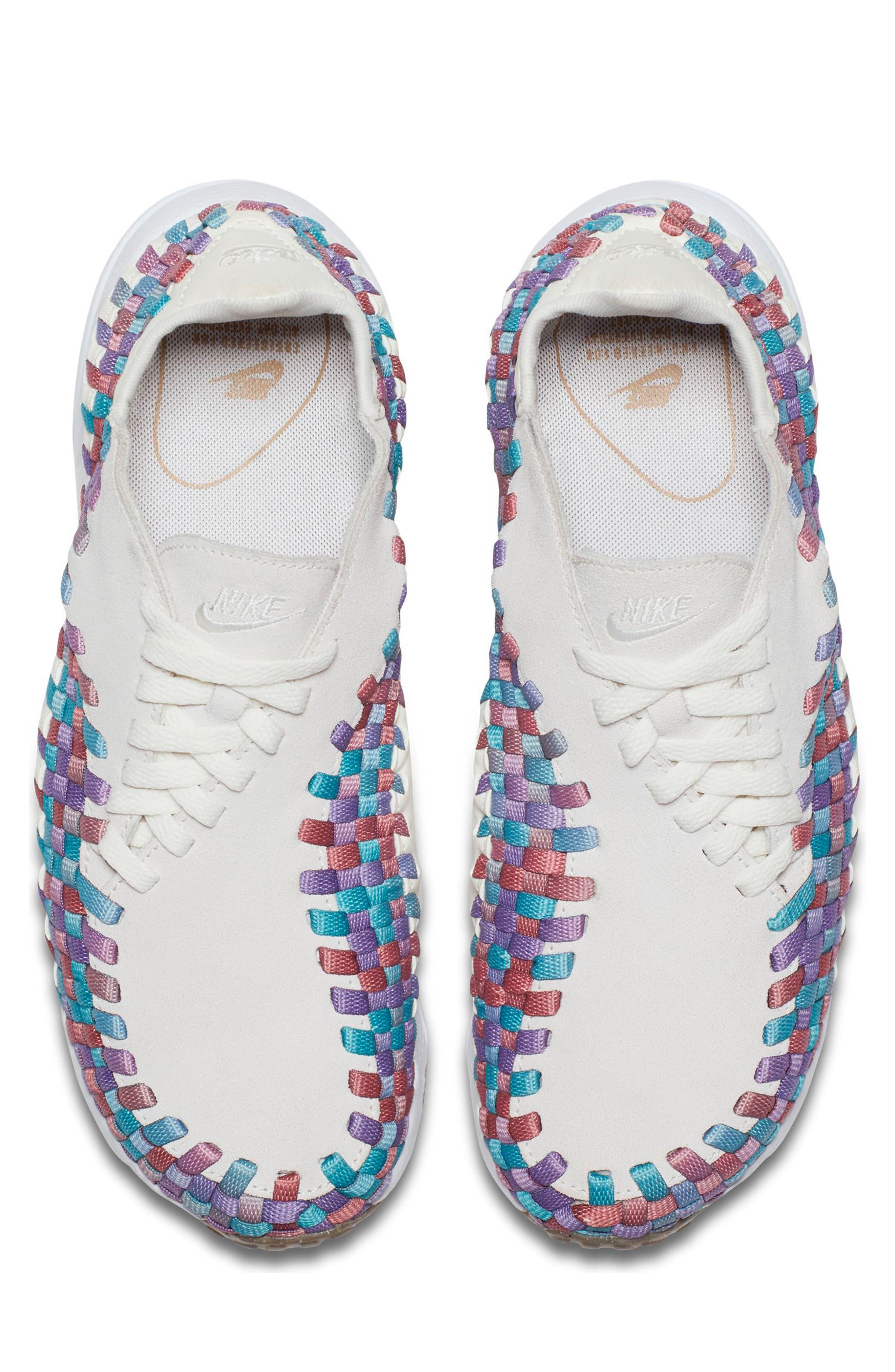 Air Footscape Woven Sneaker,                             Alternate thumbnail 15, color,