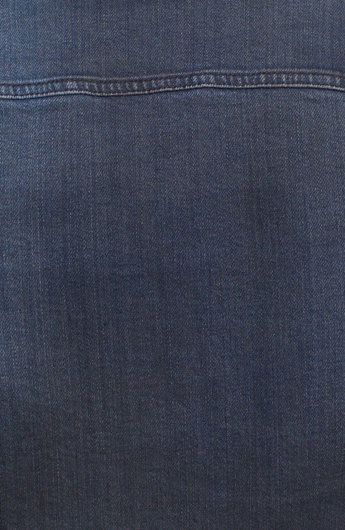 'Perry' Organic Denim Jacket,                             Alternate thumbnail 3, color,                             410