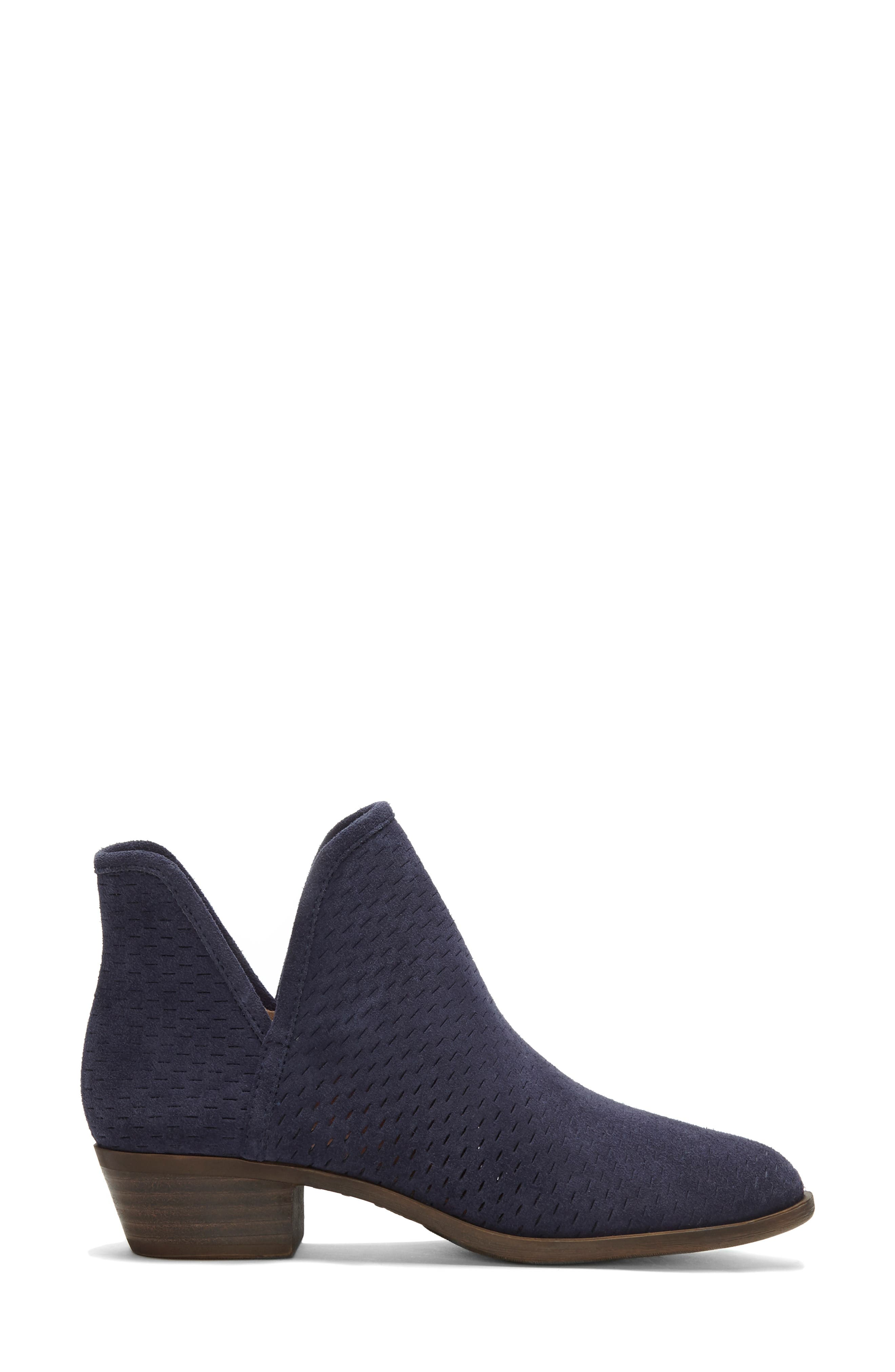 Baley Bootie,                             Alternate thumbnail 2, color,                             MOROCCAN BLUE SUEDE