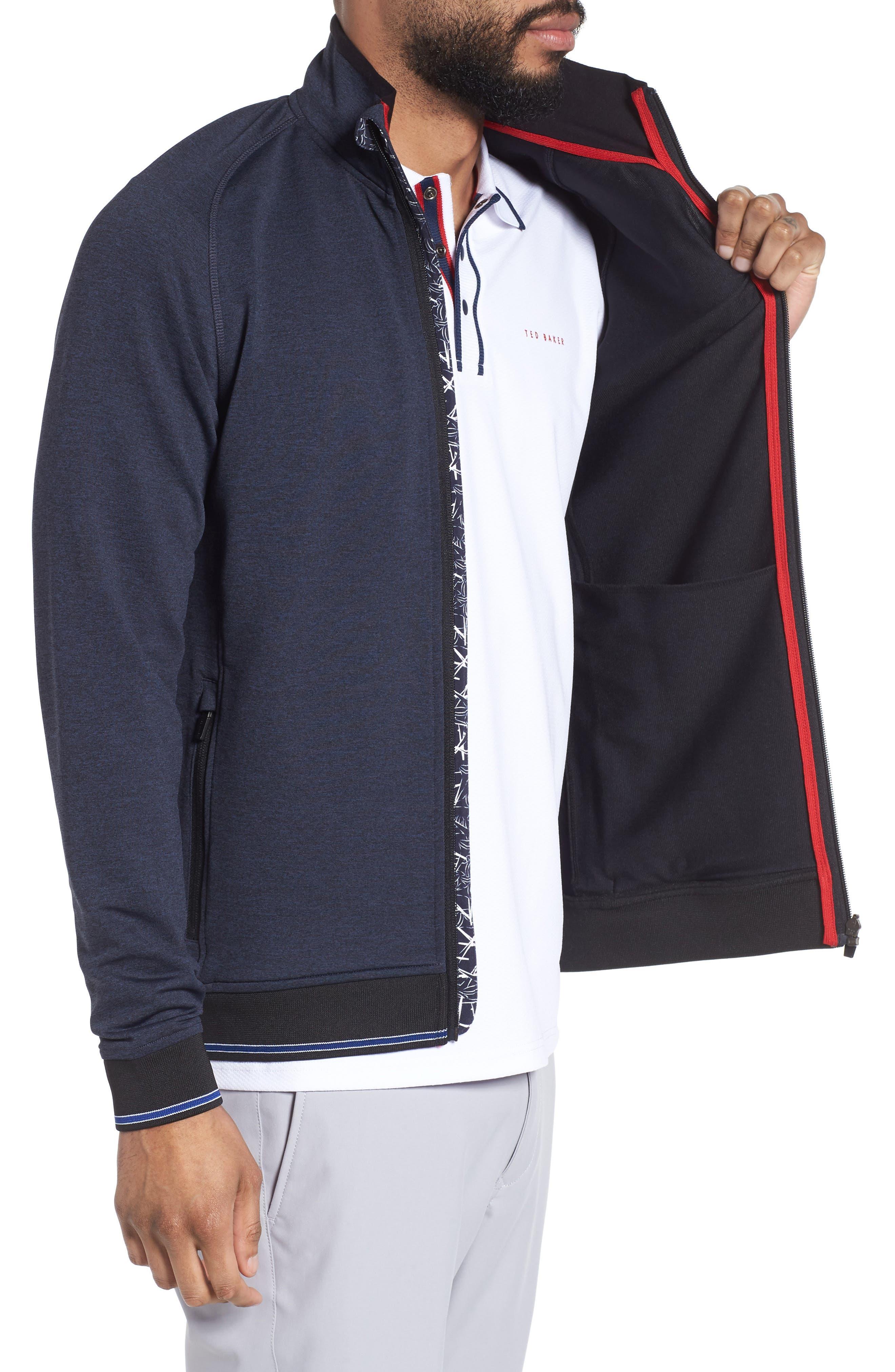 Parway Knit Golf Jacket,                             Alternate thumbnail 3, color,                             410