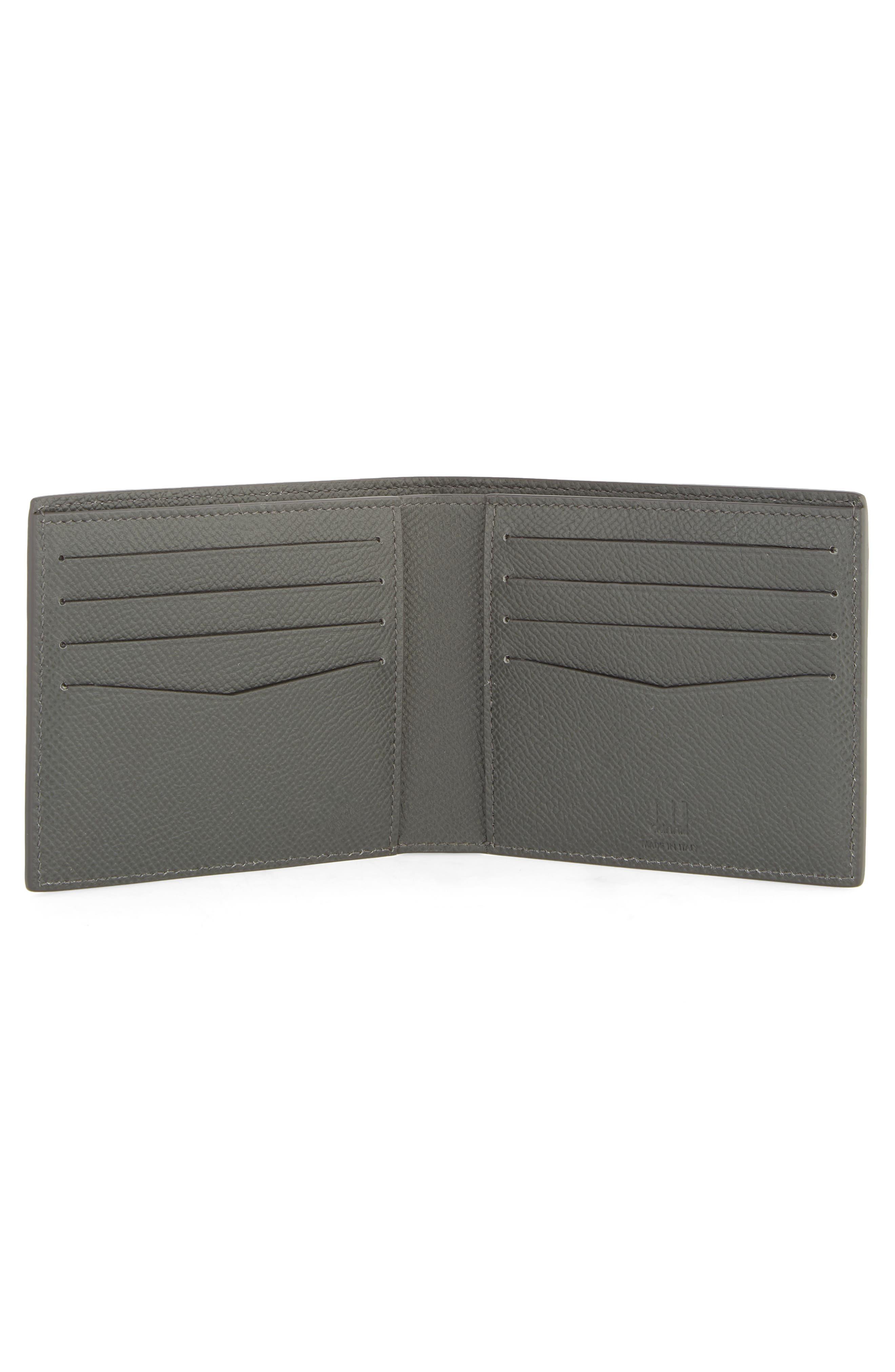 Cadogan Leather Wallet,                             Alternate thumbnail 2, color,                             GREY