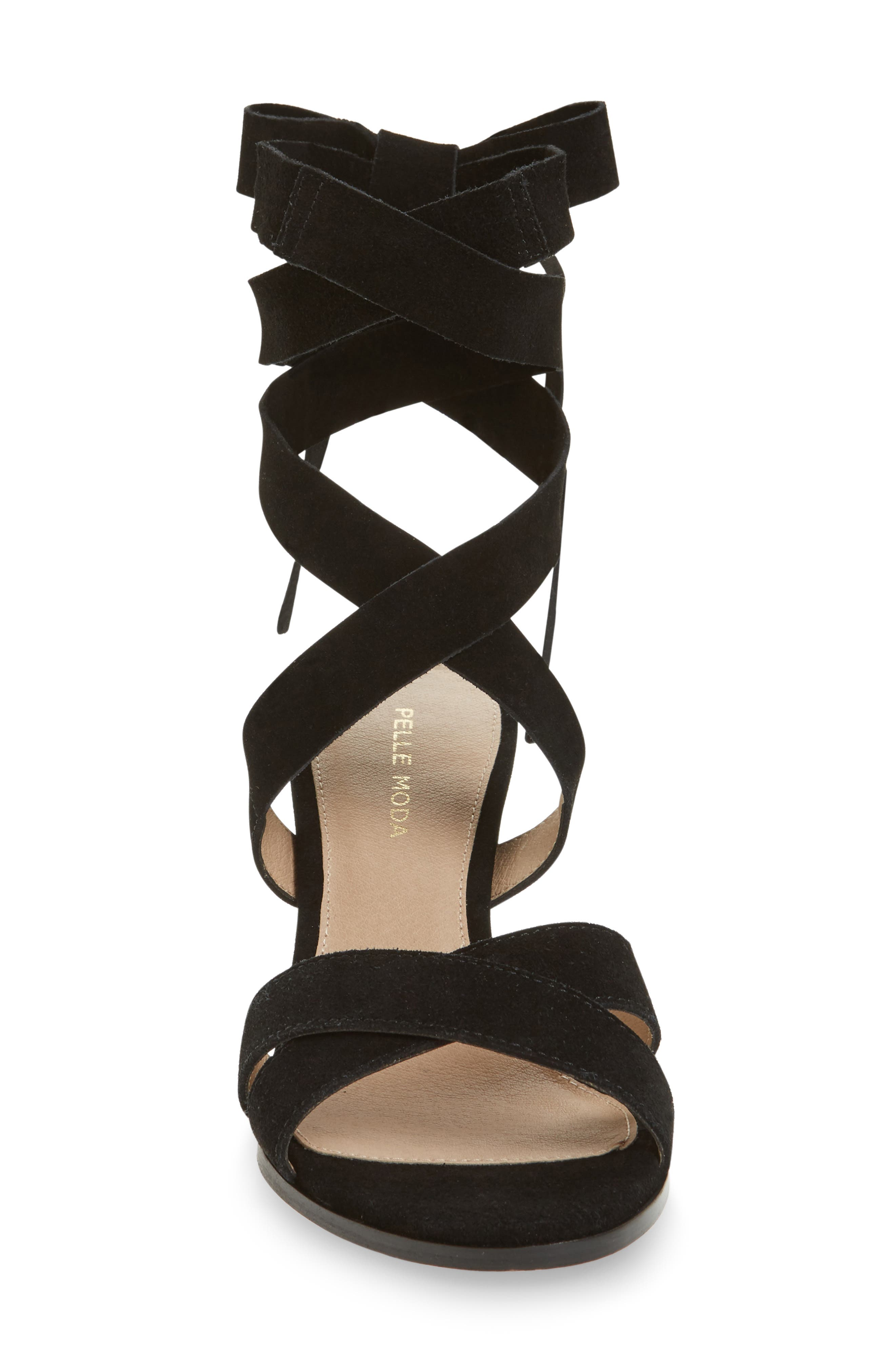 Bonjour Ankle Wrap Sandal,                             Alternate thumbnail 7, color,