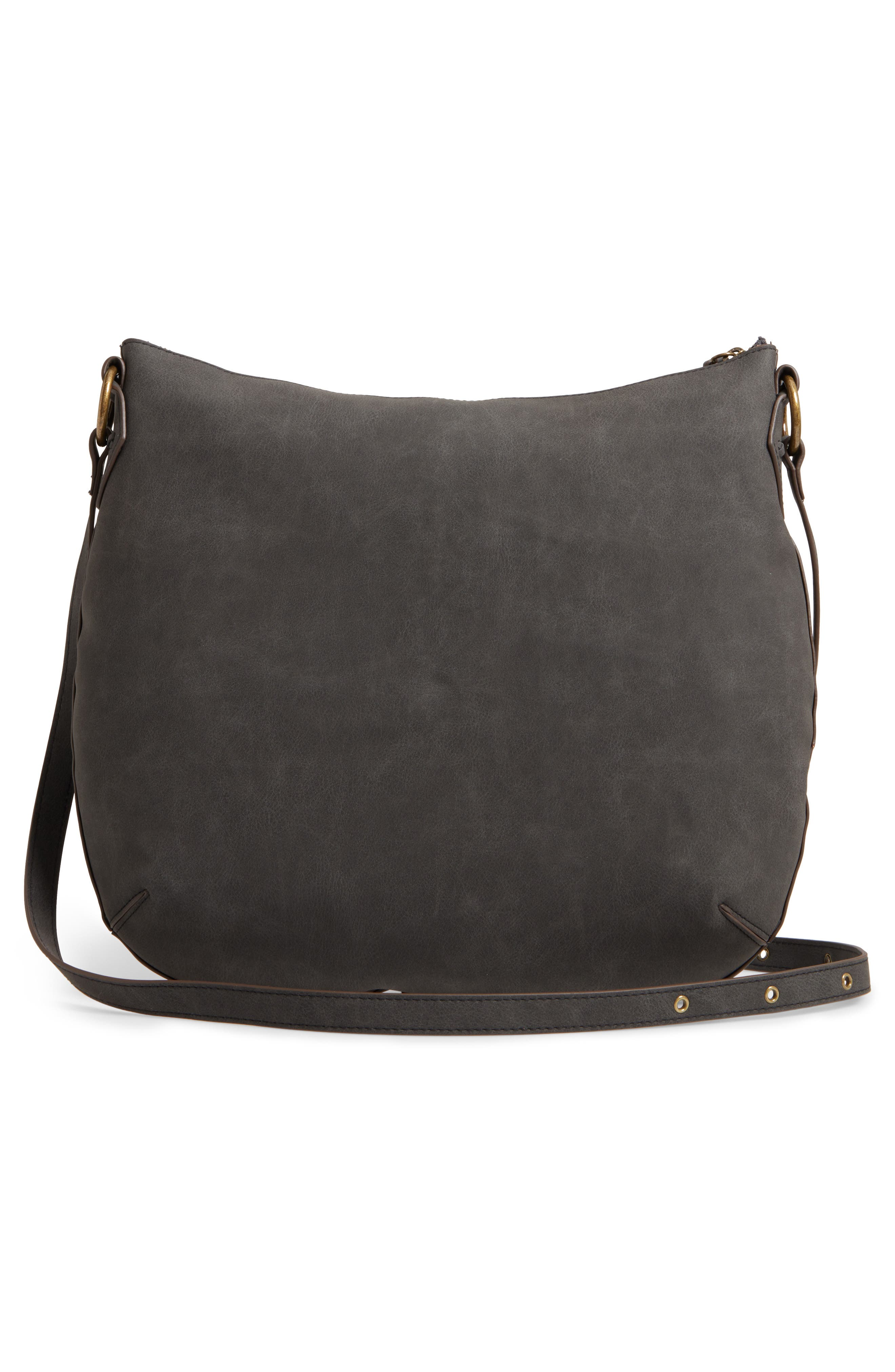 Palomina Faux Leather Crossbody Hobo,                             Alternate thumbnail 7, color,